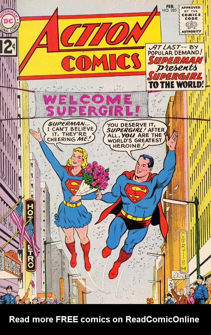 Read online Action Comics (1938) comic -  Issue #285 - 1