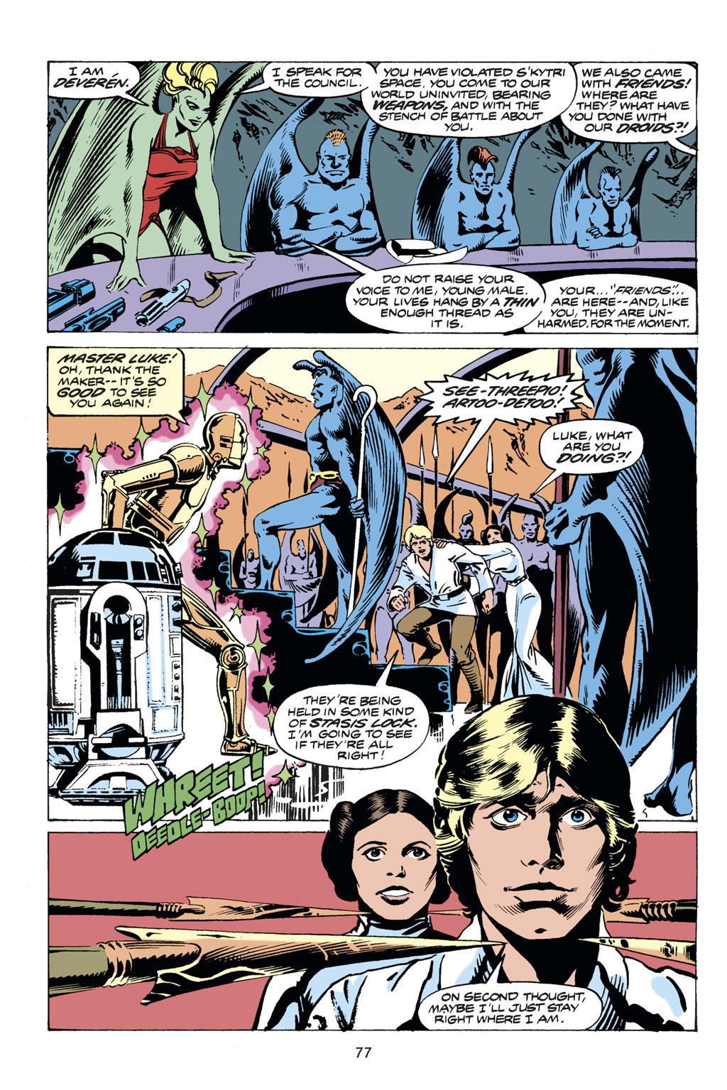 Read online Star Wars Omnibus comic -  Issue # Vol. 14 - 77