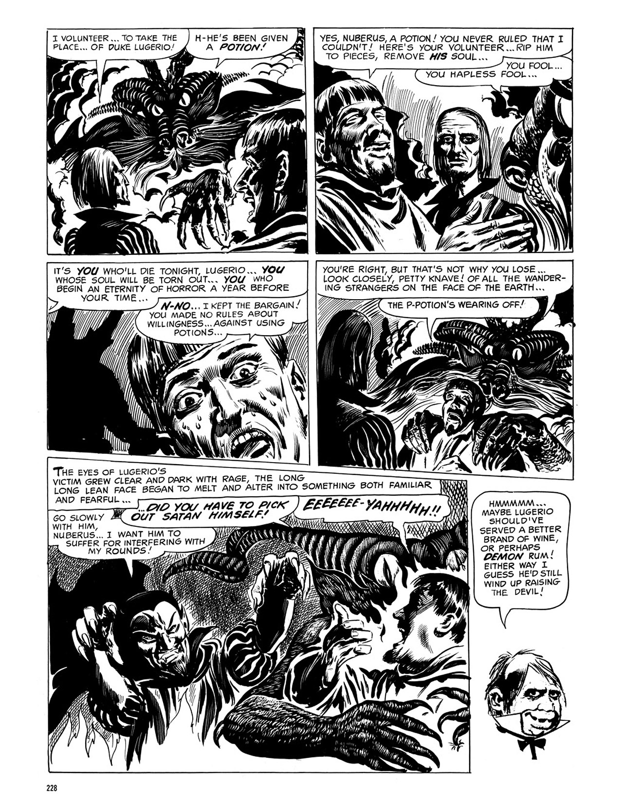 Read online Eerie Archives comic -  Issue # TPB 4 - 228
