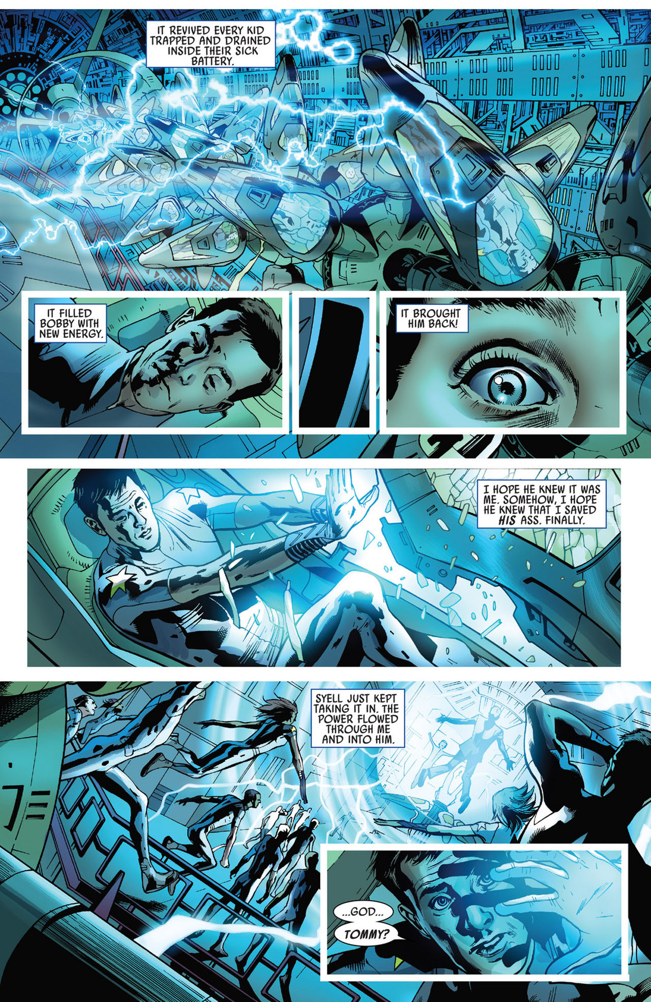 Read online America's Got Powers comic -  Issue #5 - 21