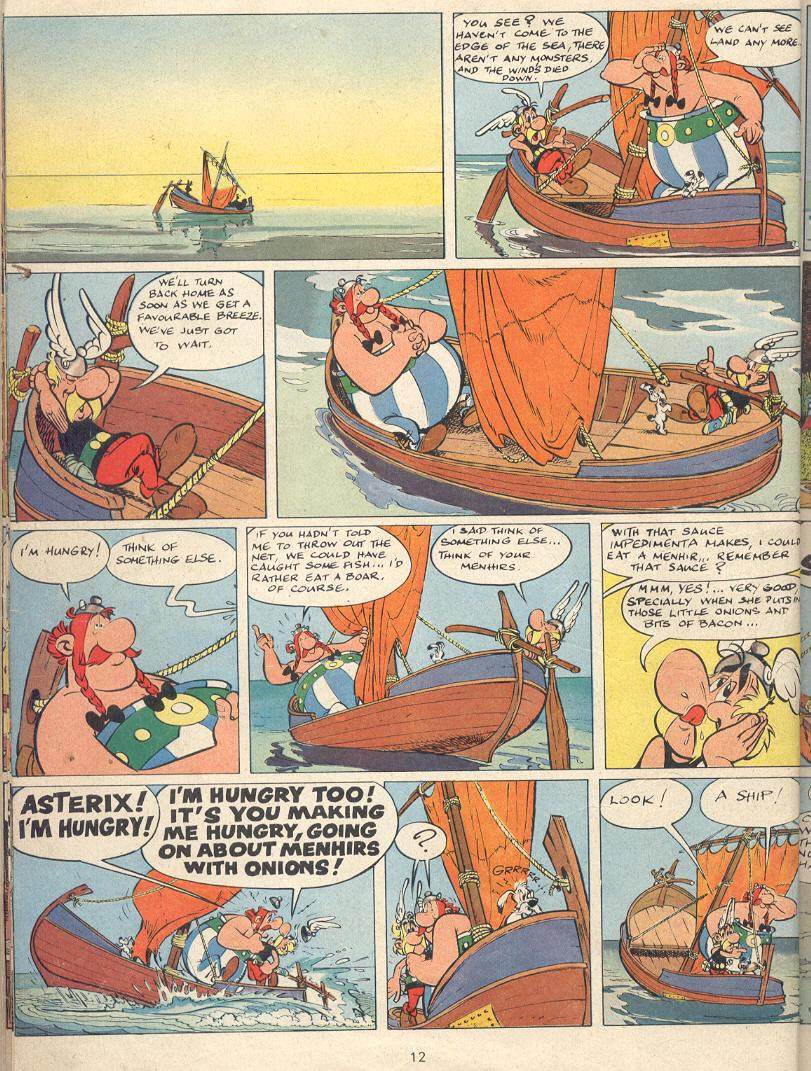 Read online Asterix comic -  Issue #22 - 9