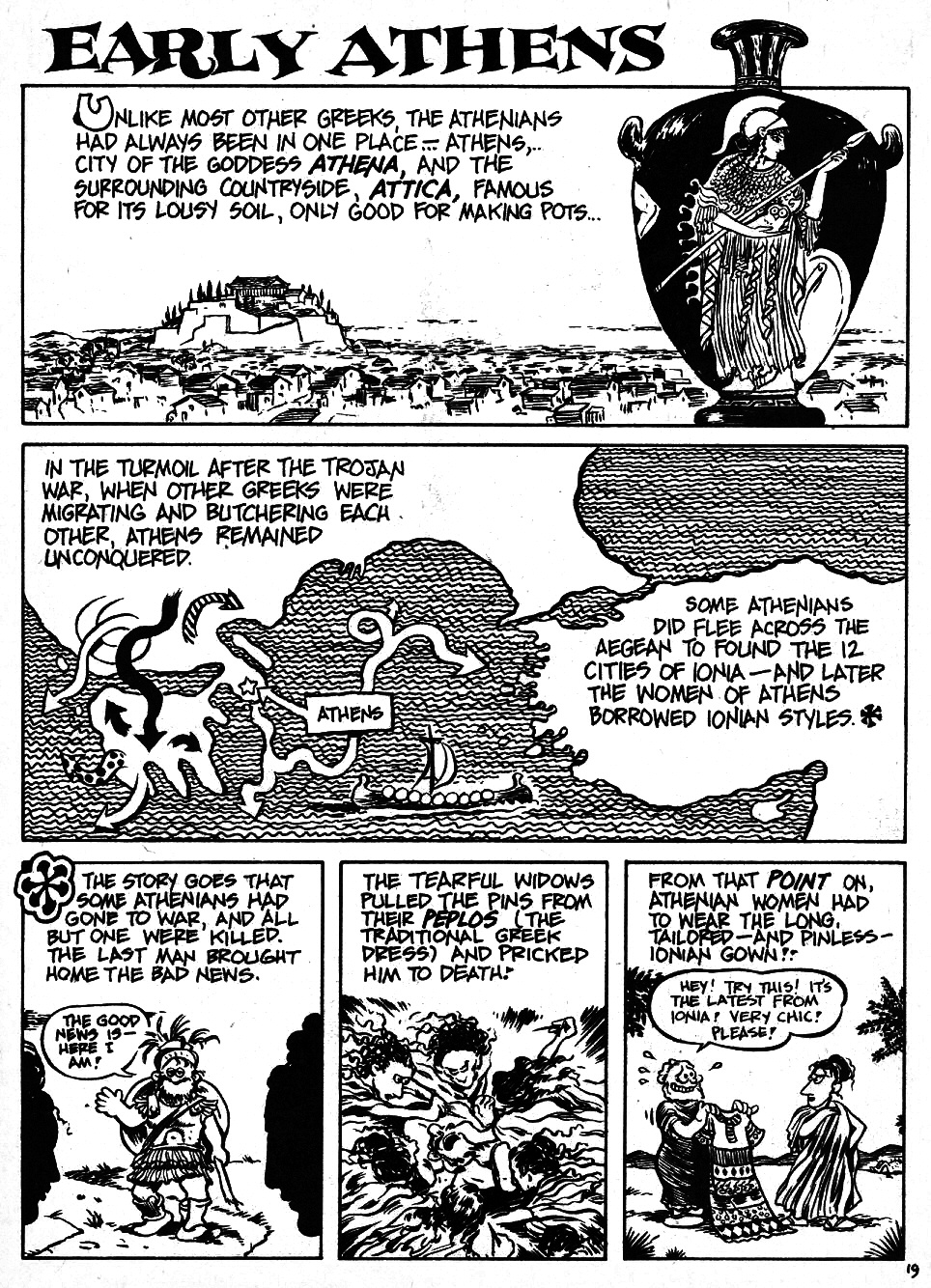 Read online The Cartoon History of the Universe comic -  Issue #6 - 21