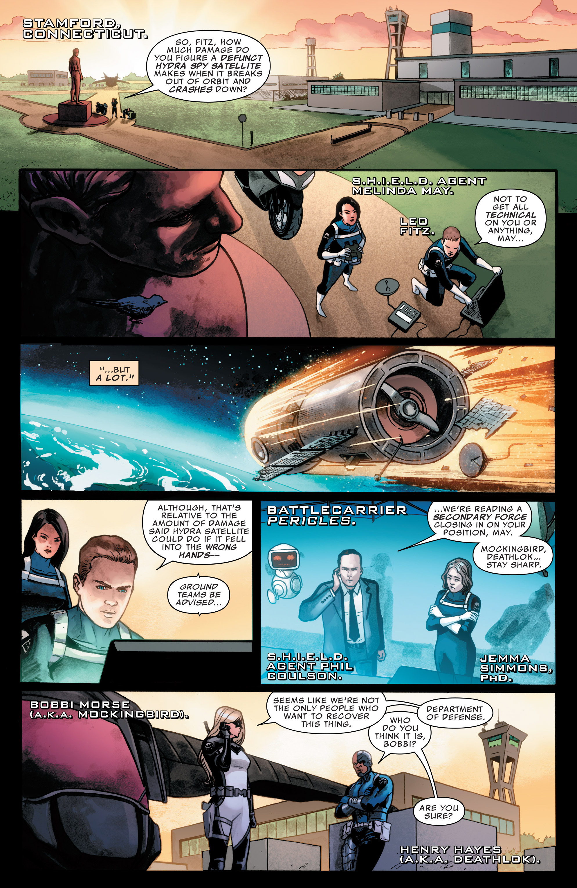 Read online Agents of S.H.I.E.L.D. comic -  Issue #7 - 2
