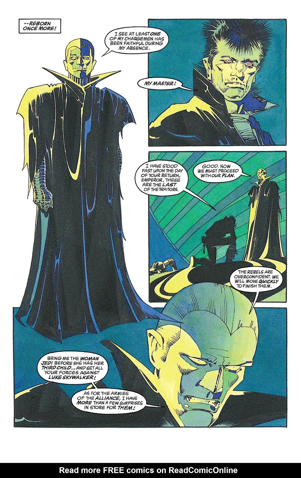 Read online Star Wars: Dark Empire Trilogy comic -  Issue # TPB (Part 2) - 81