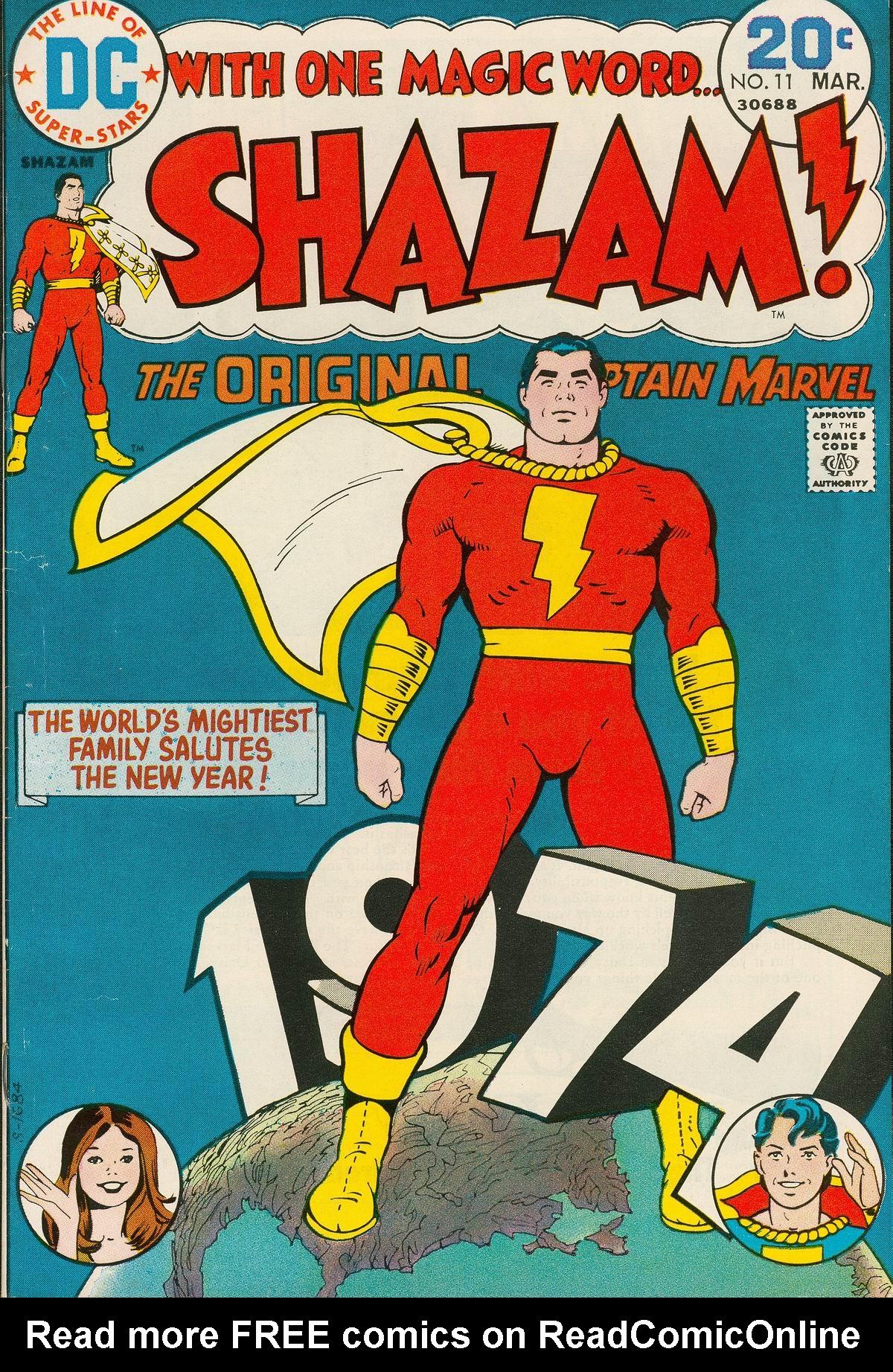Read online Shazam! (1973) comic -  Issue #11 - 1