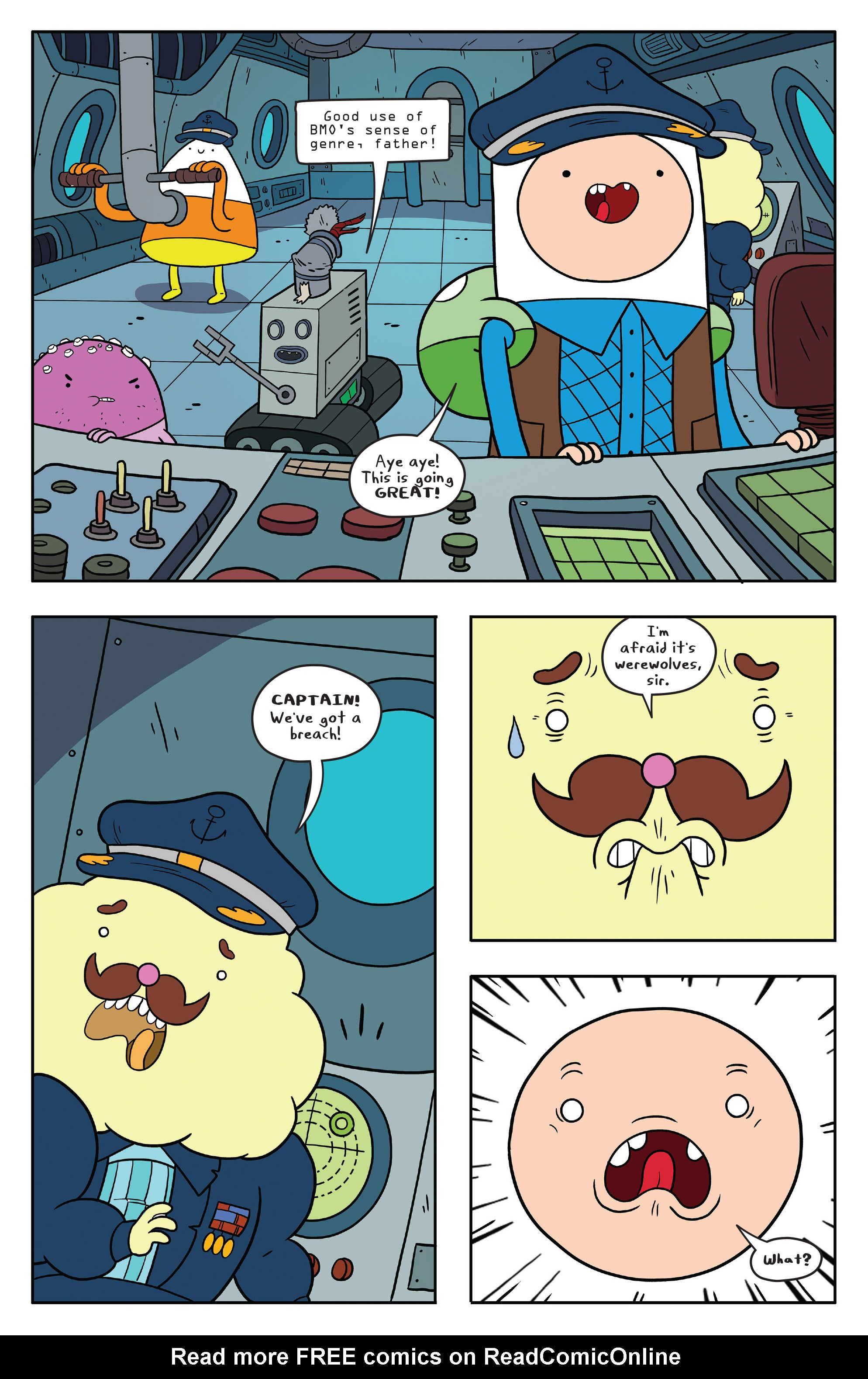 Read online Adventure Time comic -  Issue #56 - 15