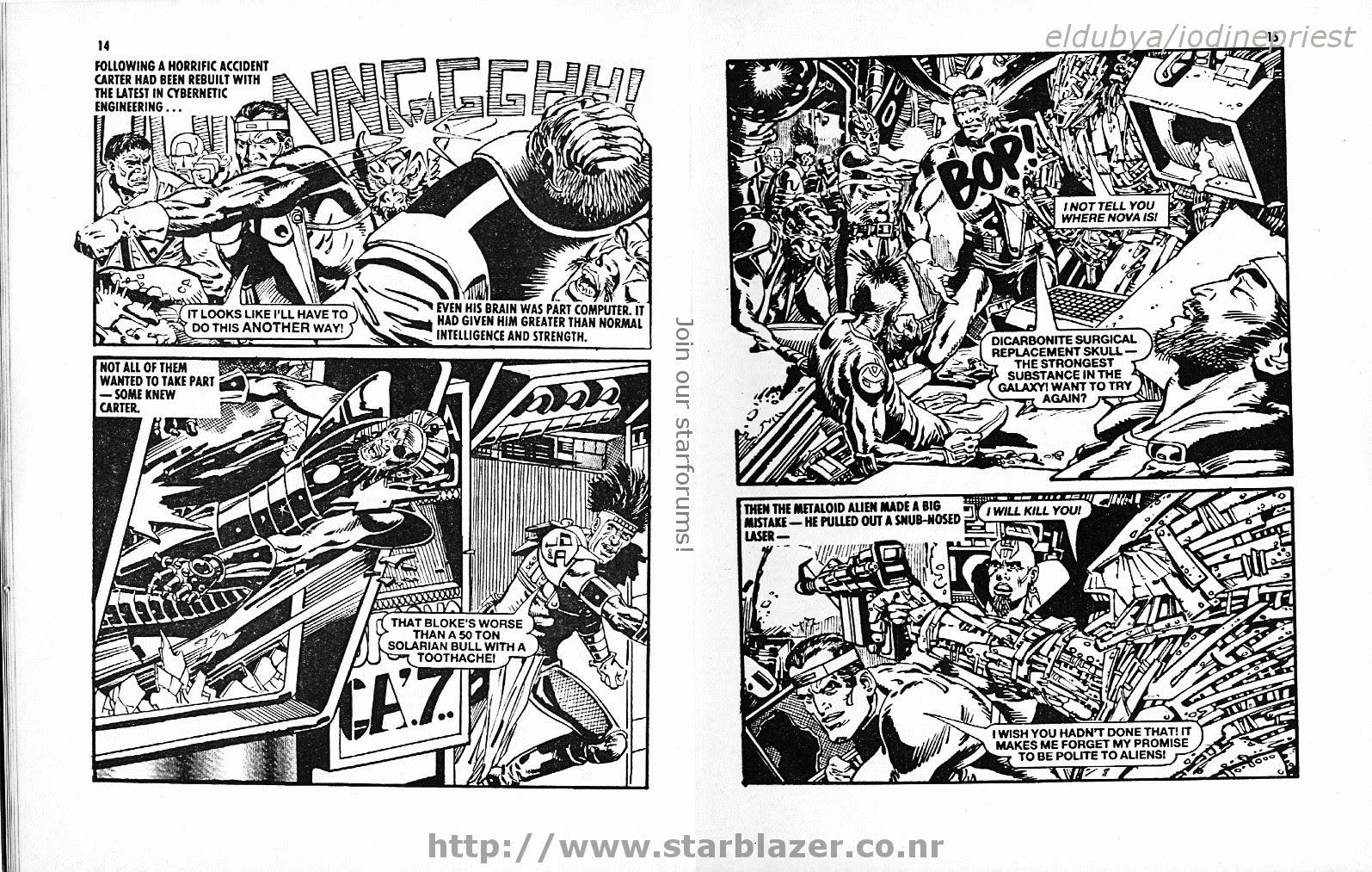 Starblazer issue 215 - Page 9