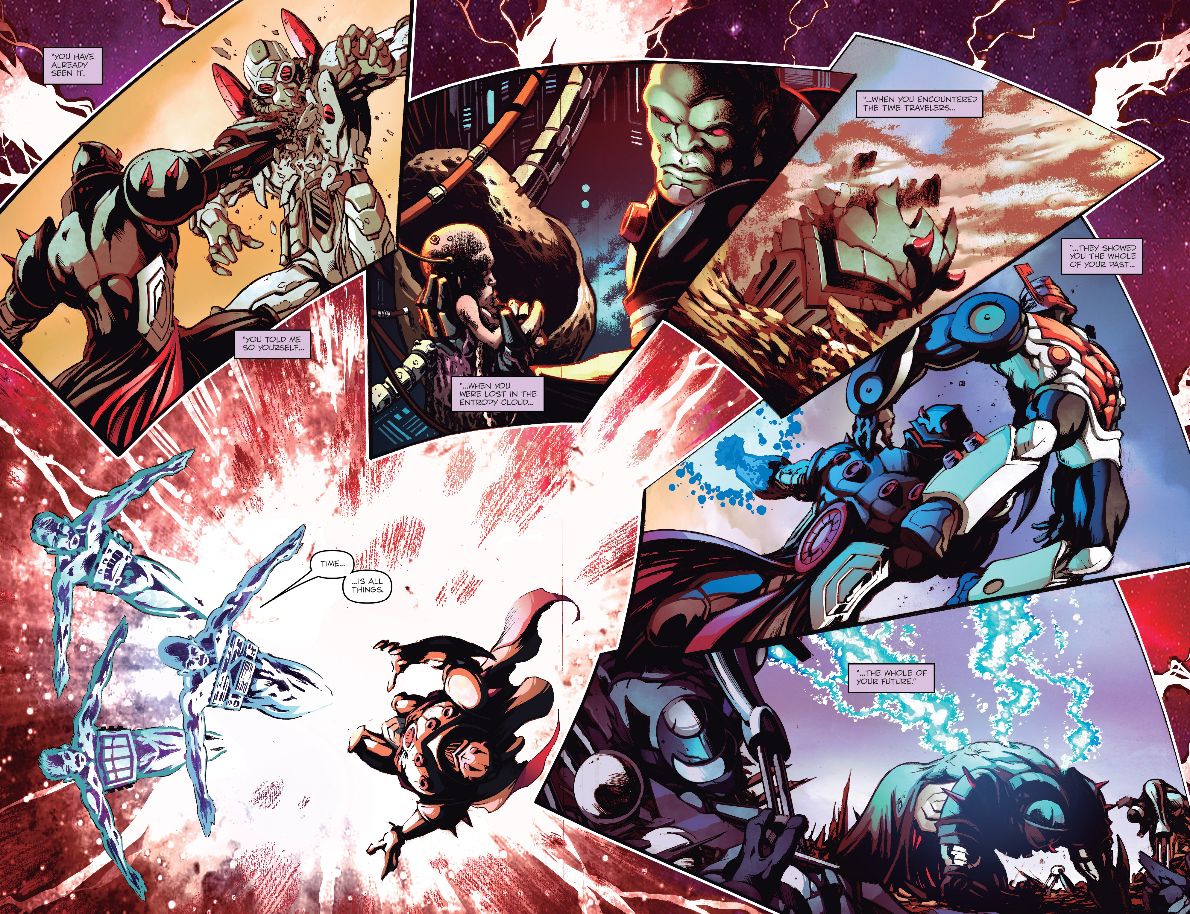 Read online Micronauts: Wrath of Karza comic -  Issue #2 - 17