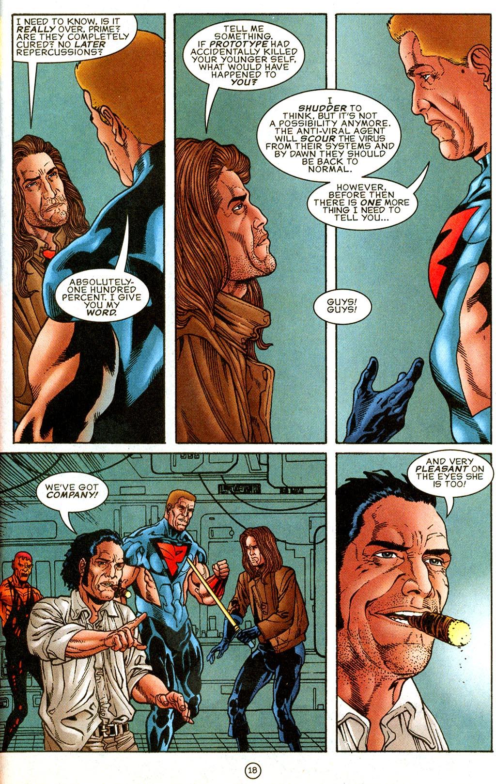 Read online UltraForce (1995) comic -  Issue #9 - 18