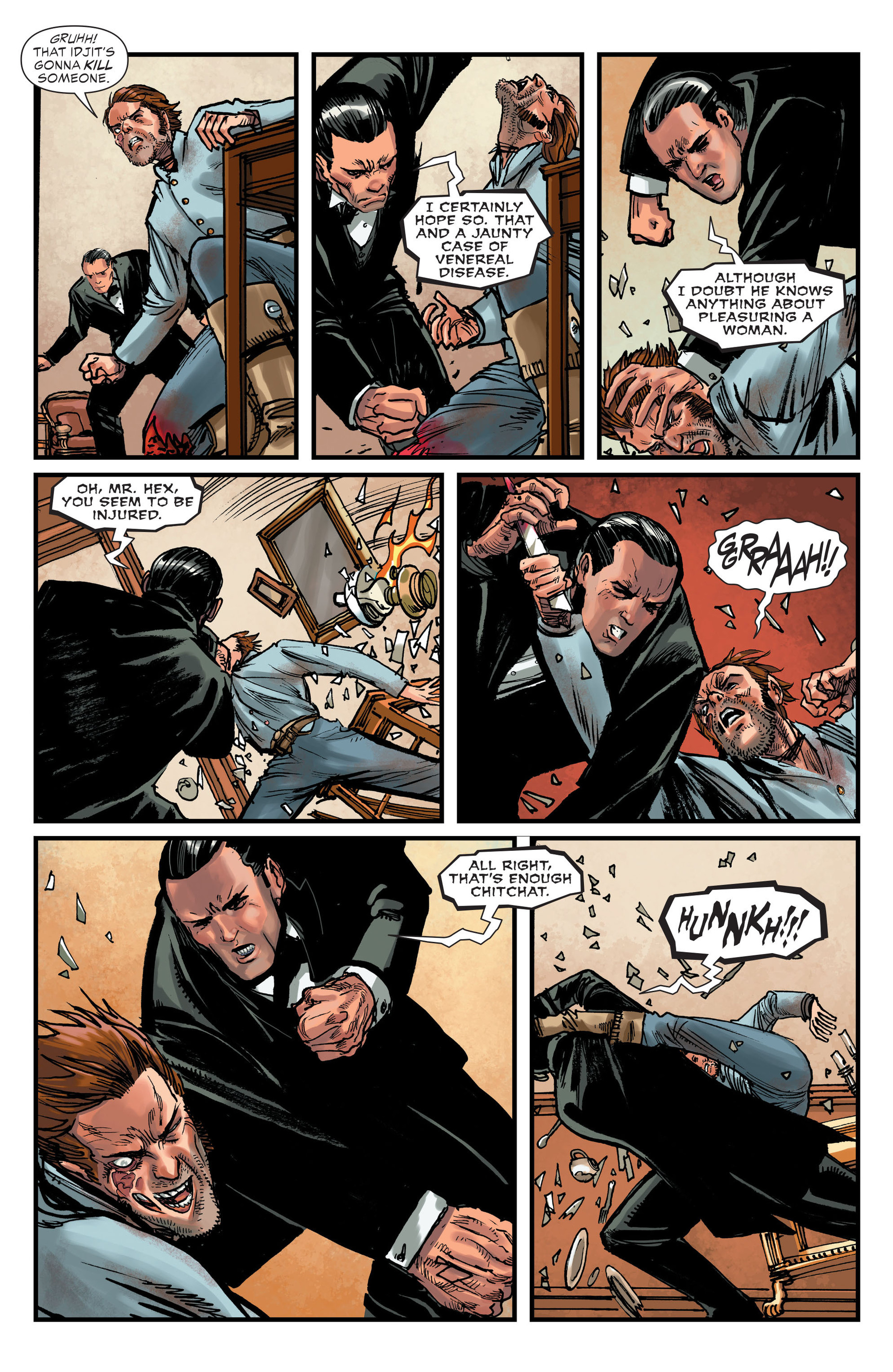 Read online All-Star Western (2011) comic -  Issue #15 - 13