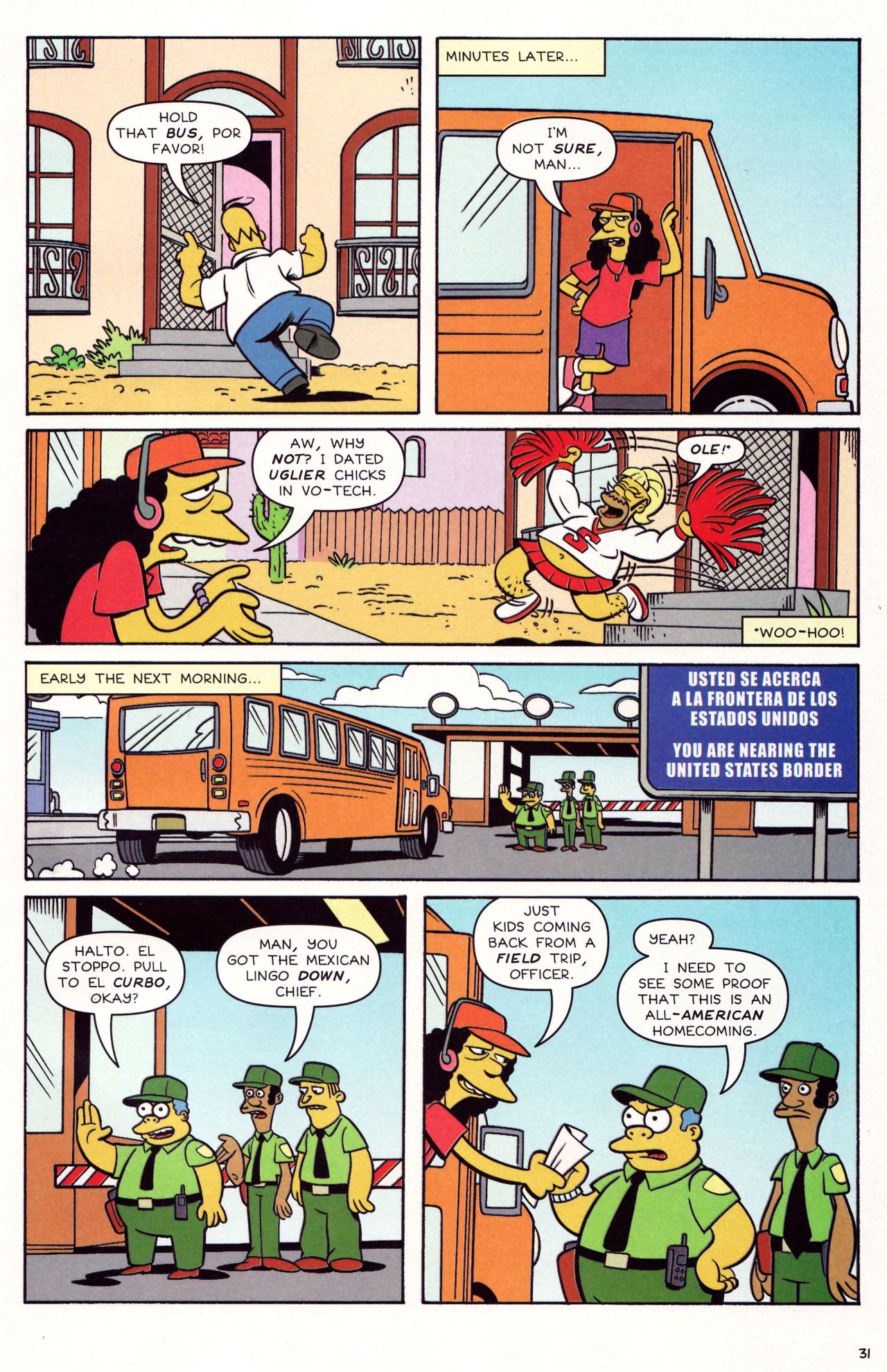 Read online Simpsons Comics comic -  Issue #131 - 27