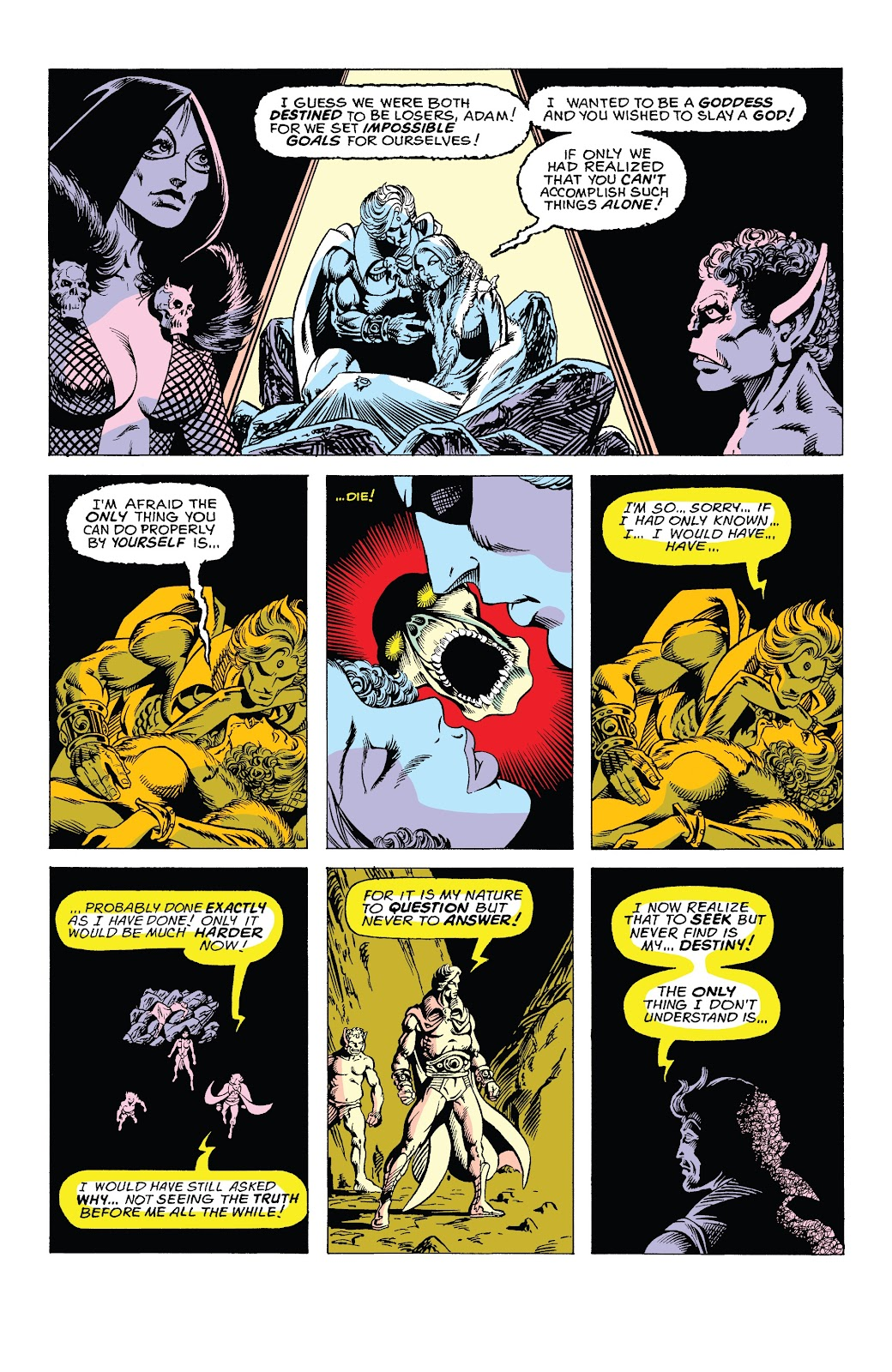 Read online Marvel Tales: Thanos comic -  Issue # Full - 14