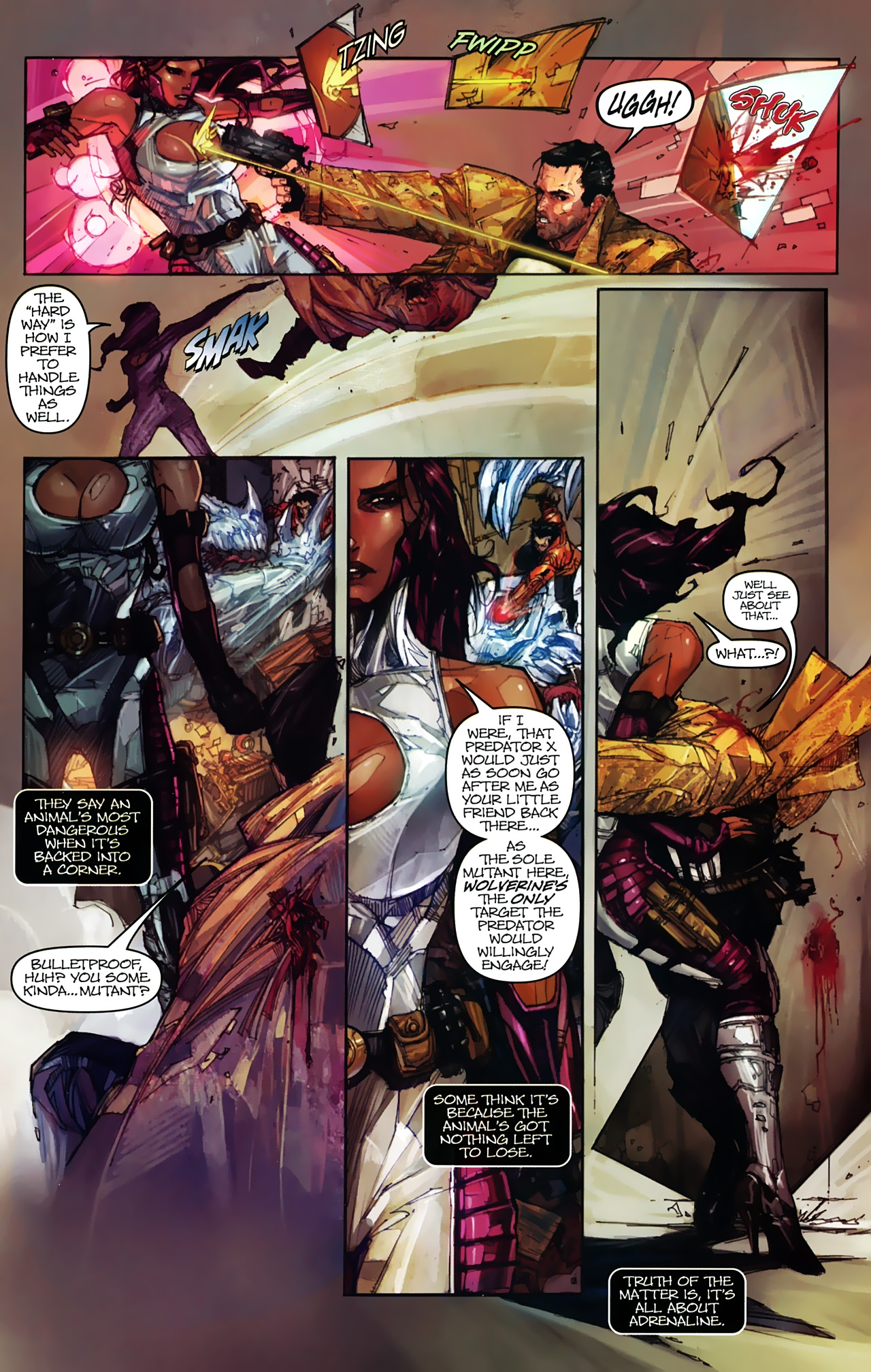 Read online Astonishing Tales (2009) comic -  Issue #2 - 9
