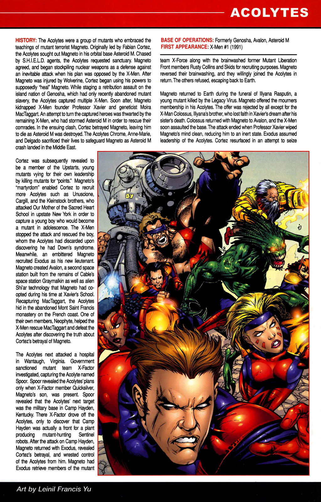 Read online All-New Official Handbook of the Marvel Universe A to Z comic -  Issue #1 - 7