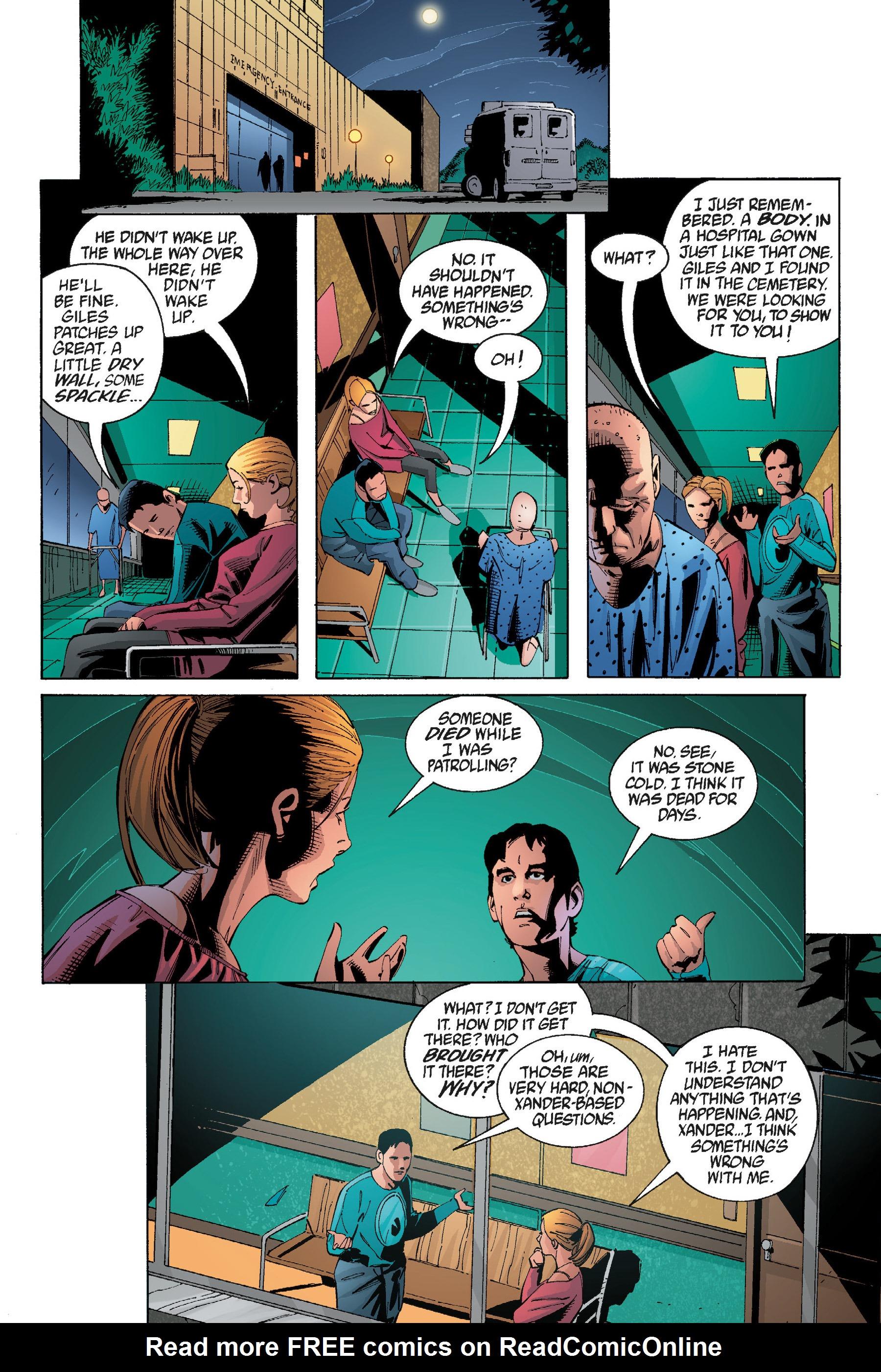 Read online Buffy the Vampire Slayer: Omnibus comic -  Issue # TPB 5 - 36