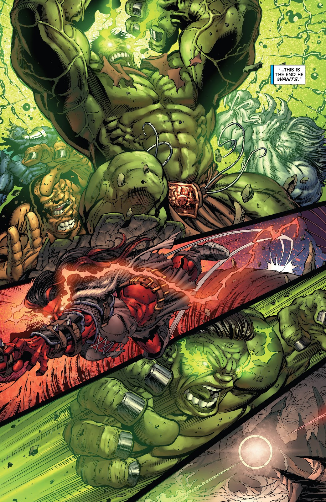 Read online Incredible Hulks (2010) comic -  Issue # _TPB Heart of the Monster - 100