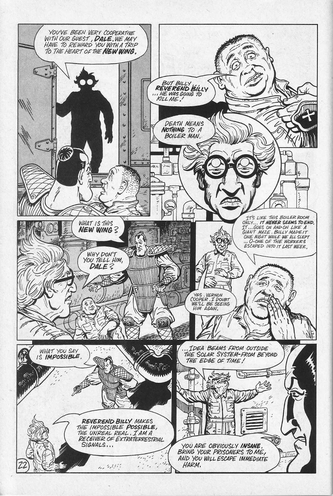 Read online Paul the Samurai (1991) comic -  Issue # TPB - 28