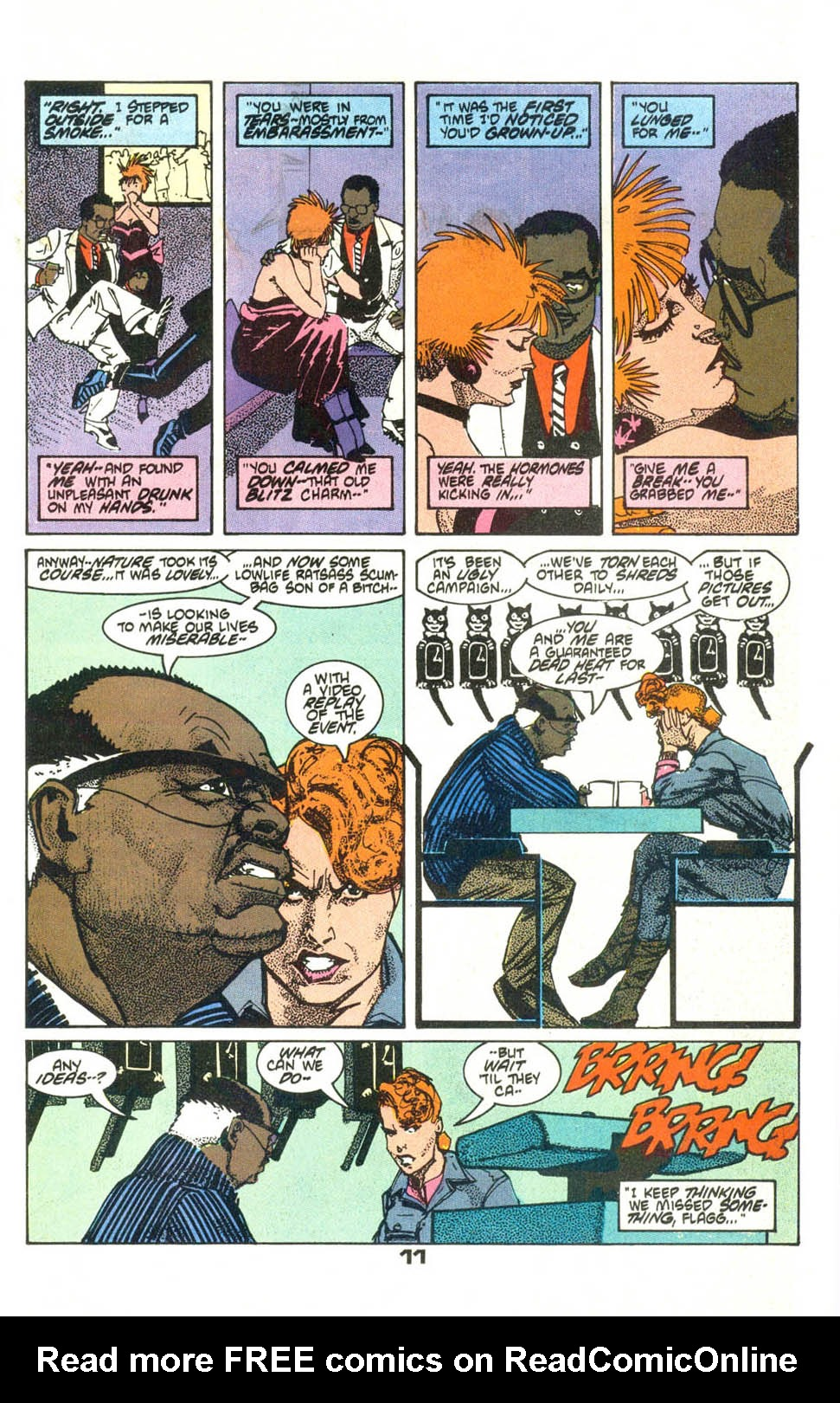 Read online American Flagg! comic -  Issue #21 - 14
