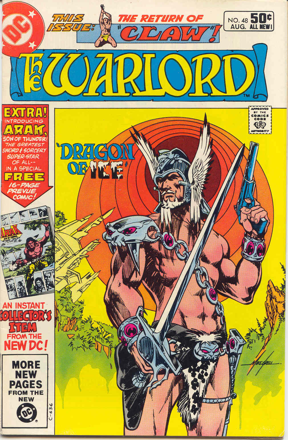Warlord (1976) issue 48 - Page 1