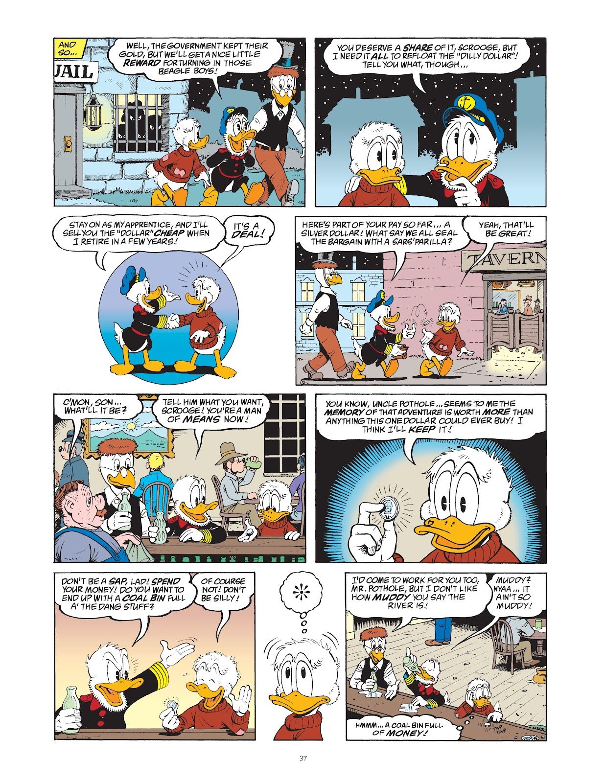 Read online The Complete Life and Times of Scrooge McDuck comic -  Issue # TPB 1 (Part 1) - 44