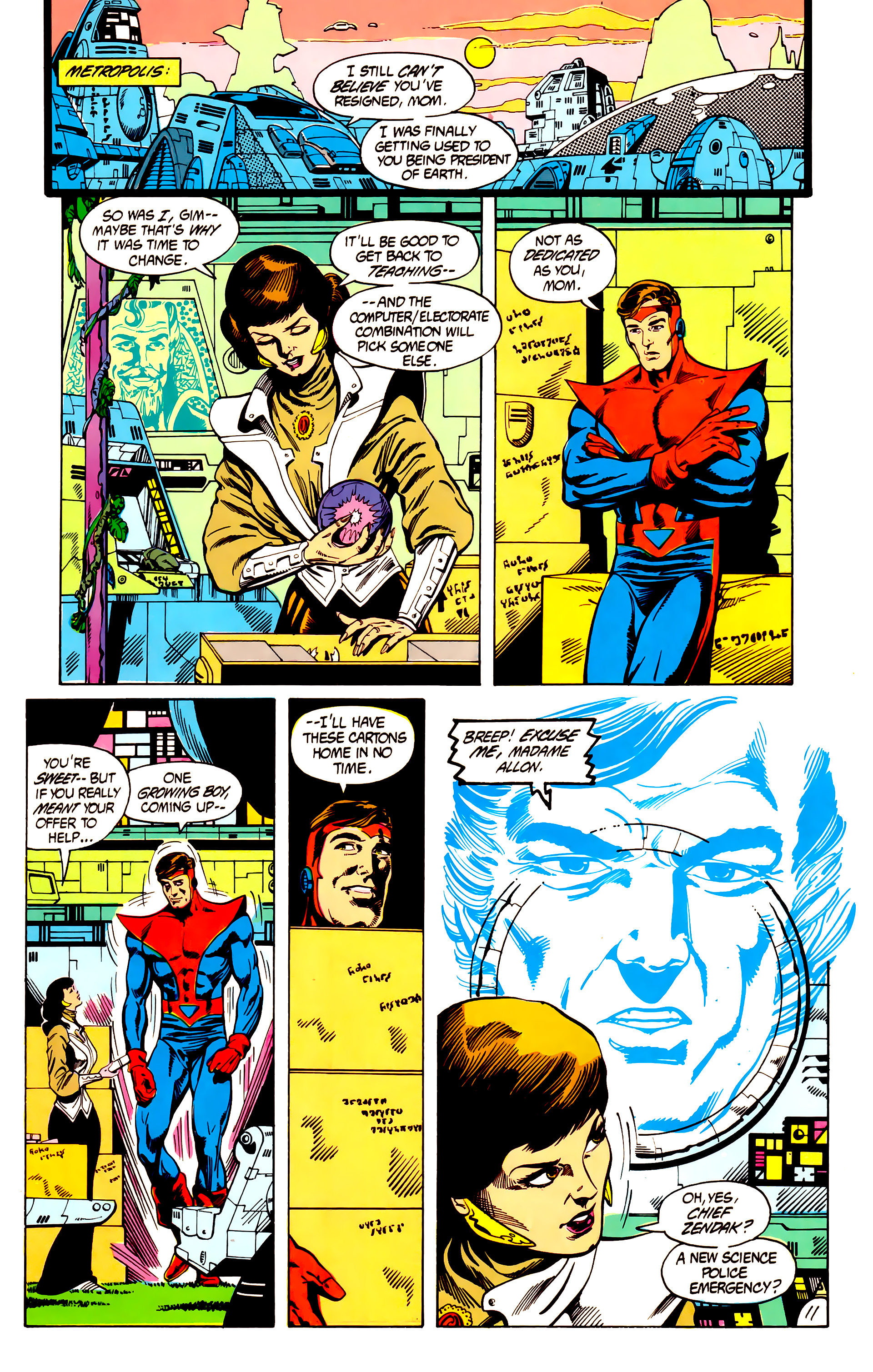 Legion of Super-Heroes (1984) 7 Page 12