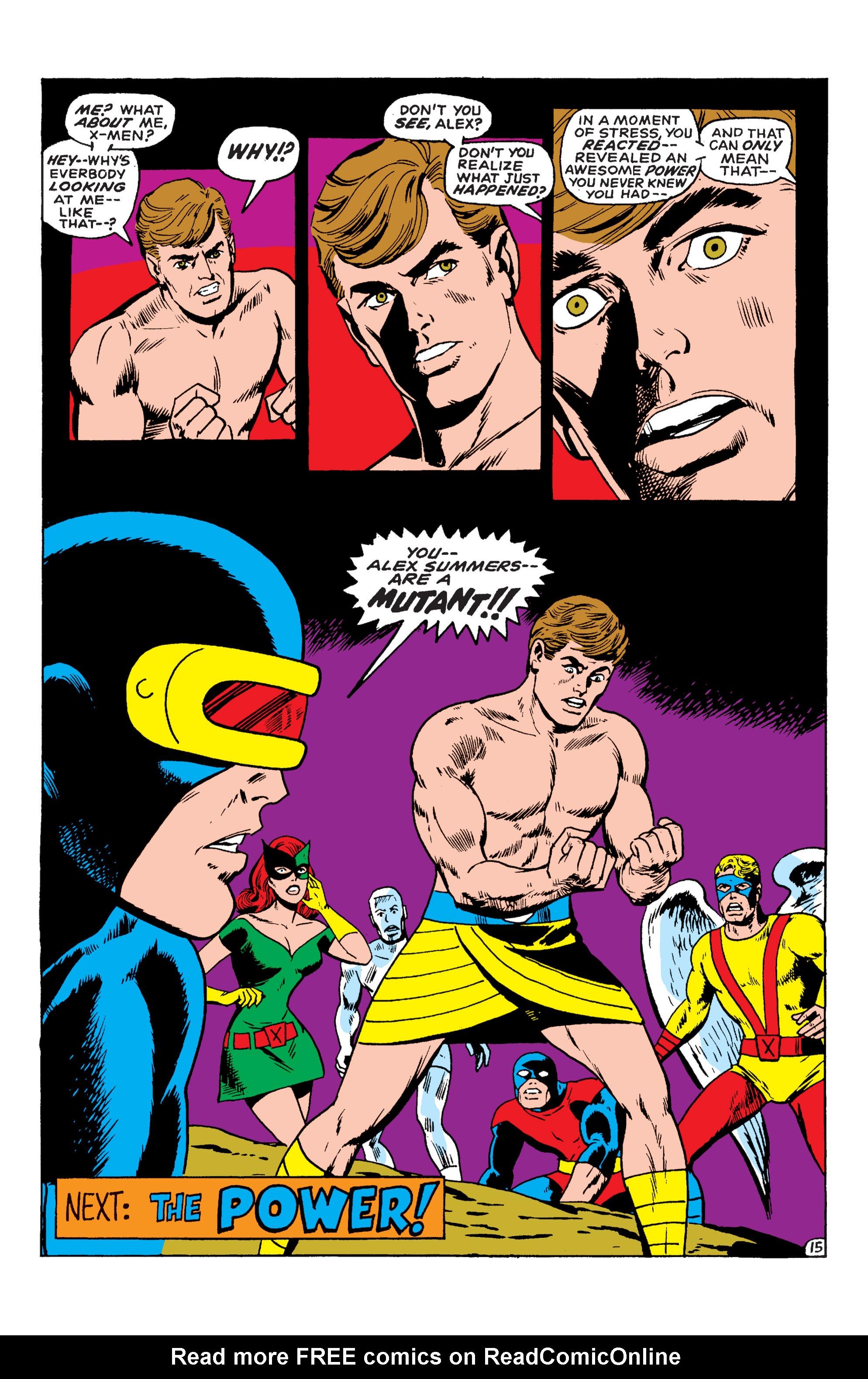 Uncanny X-Men (1963) 55 Page 15
