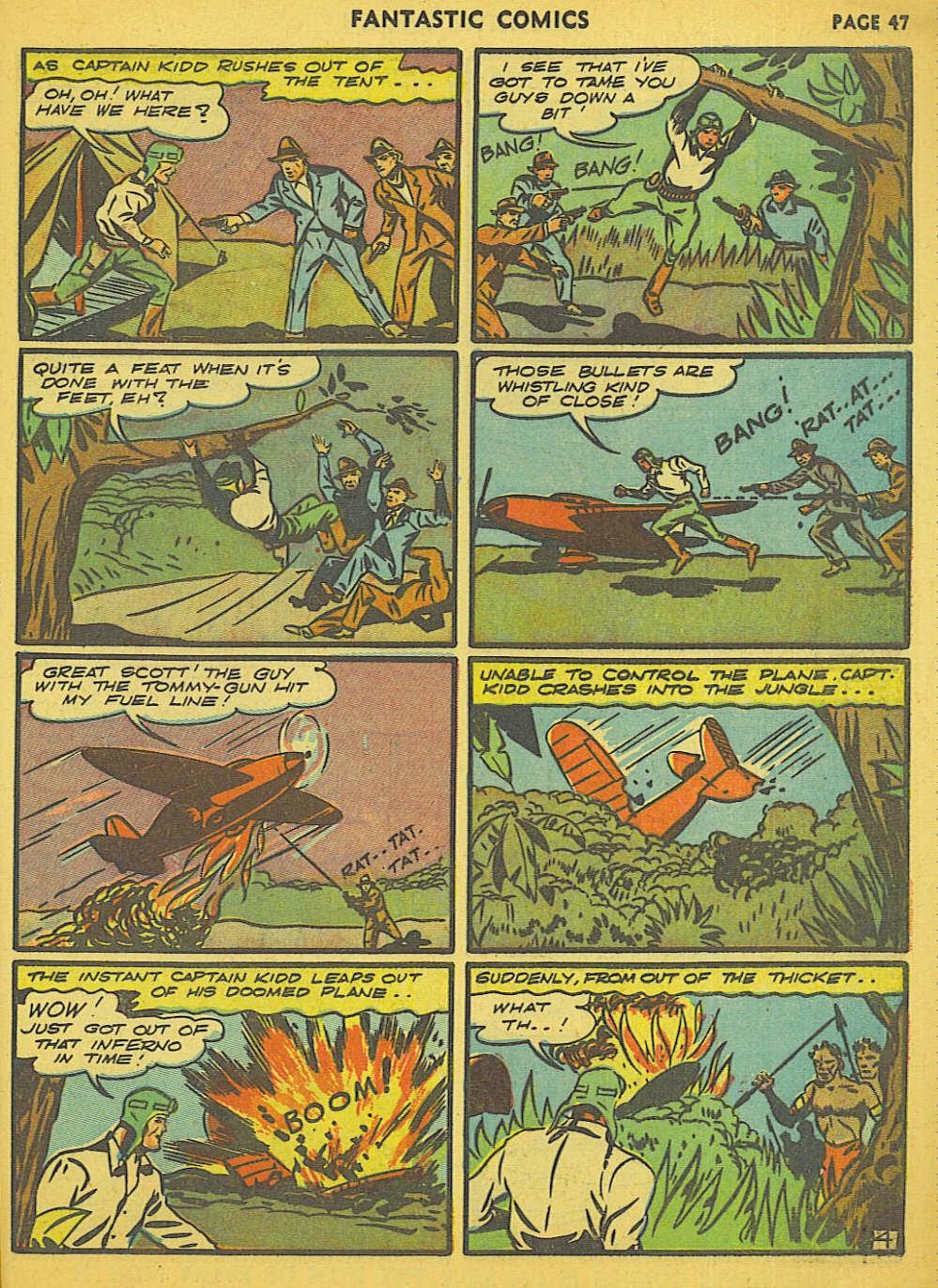 Read online Fantastic Comics comic -  Issue #15 - 41