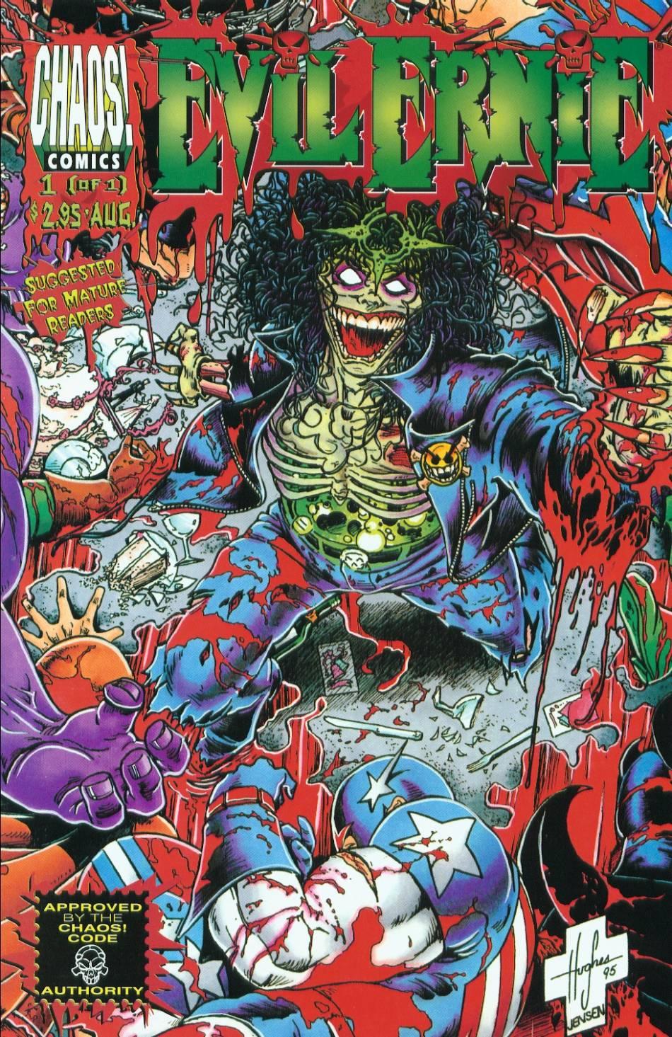 Read online Evil Ernie vs. the Superheroes comic -  Issue #1 - 1