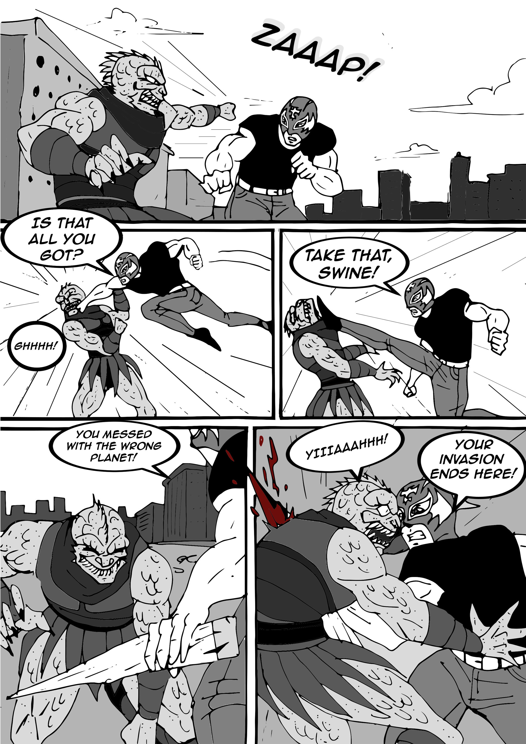 Read online Aski vs. The Draconians comic -  Issue #1 - 23