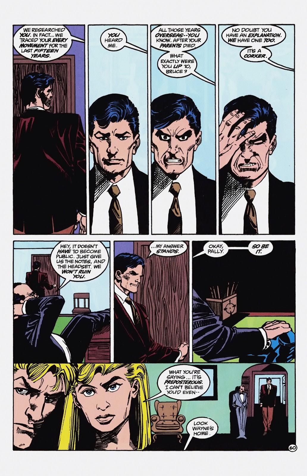 Read online Detective Comics (1937) comic -  Issue # _TPB Batman - Blind Justice (Part 1) - 65