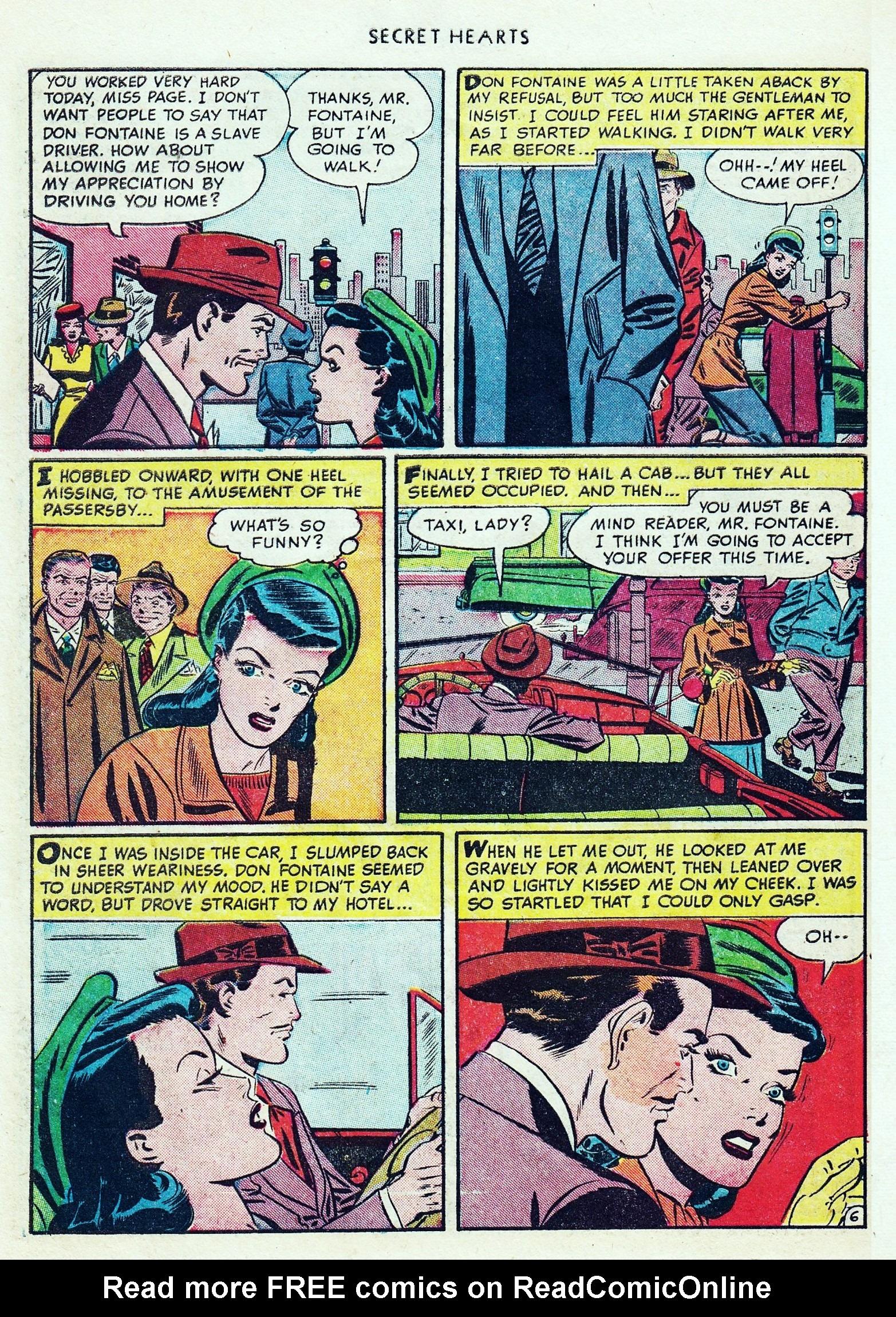 Read online Secret Hearts comic -  Issue #1 - 42
