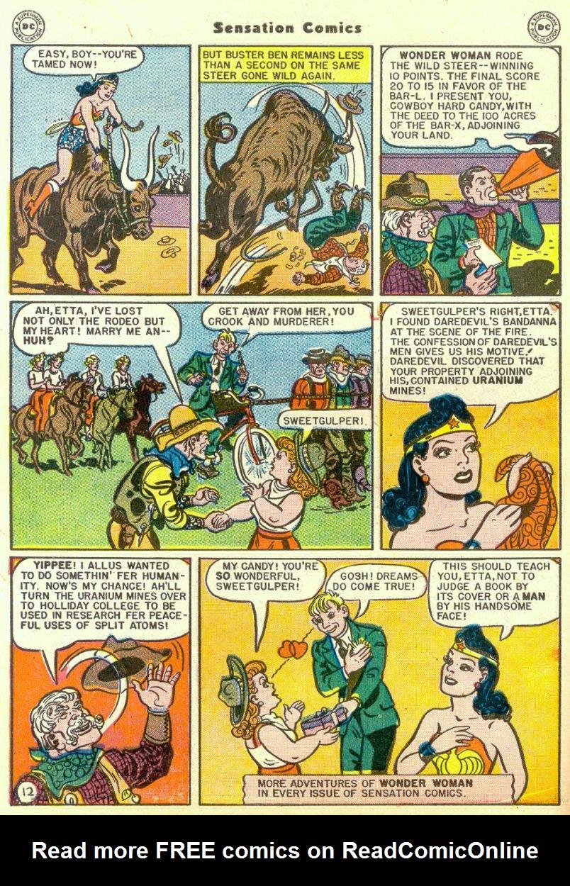 Read online Sensation (Mystery) Comics comic -  Issue #67 - 14