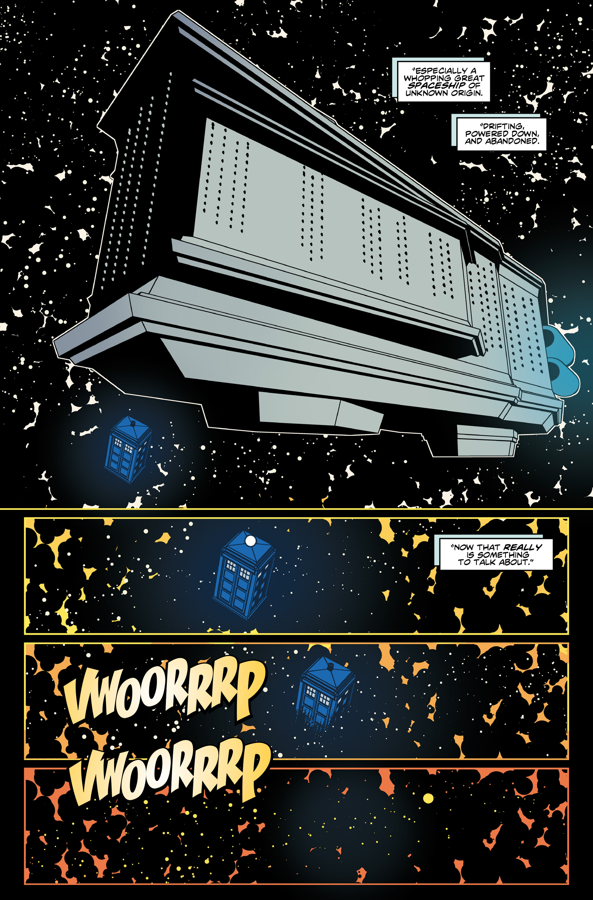 Read online Doctor Who: The Eleventh Doctor Year Three comic -  Issue #6 - 8