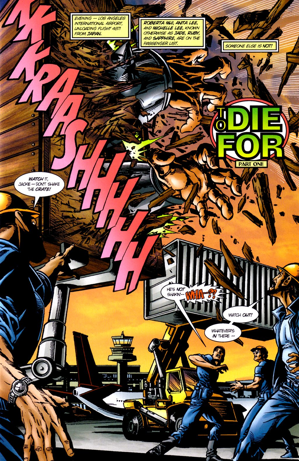 Read online Jade Warriors comic -  Issue #2 - 3