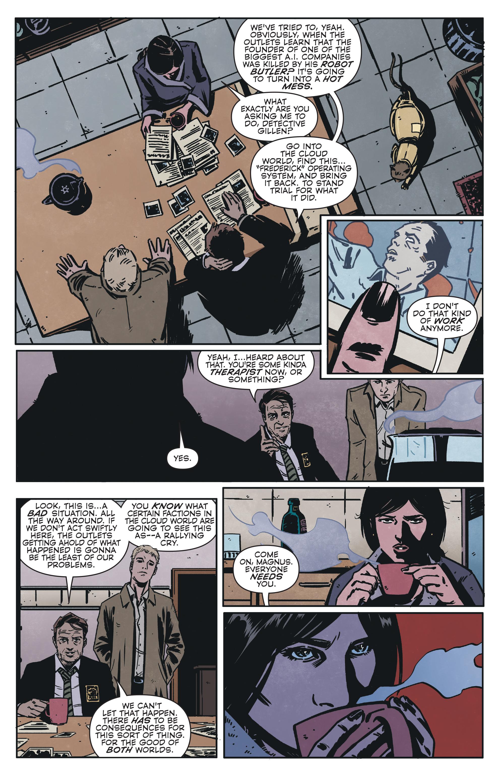 Read online Magnus comic -  Issue #1 - 19