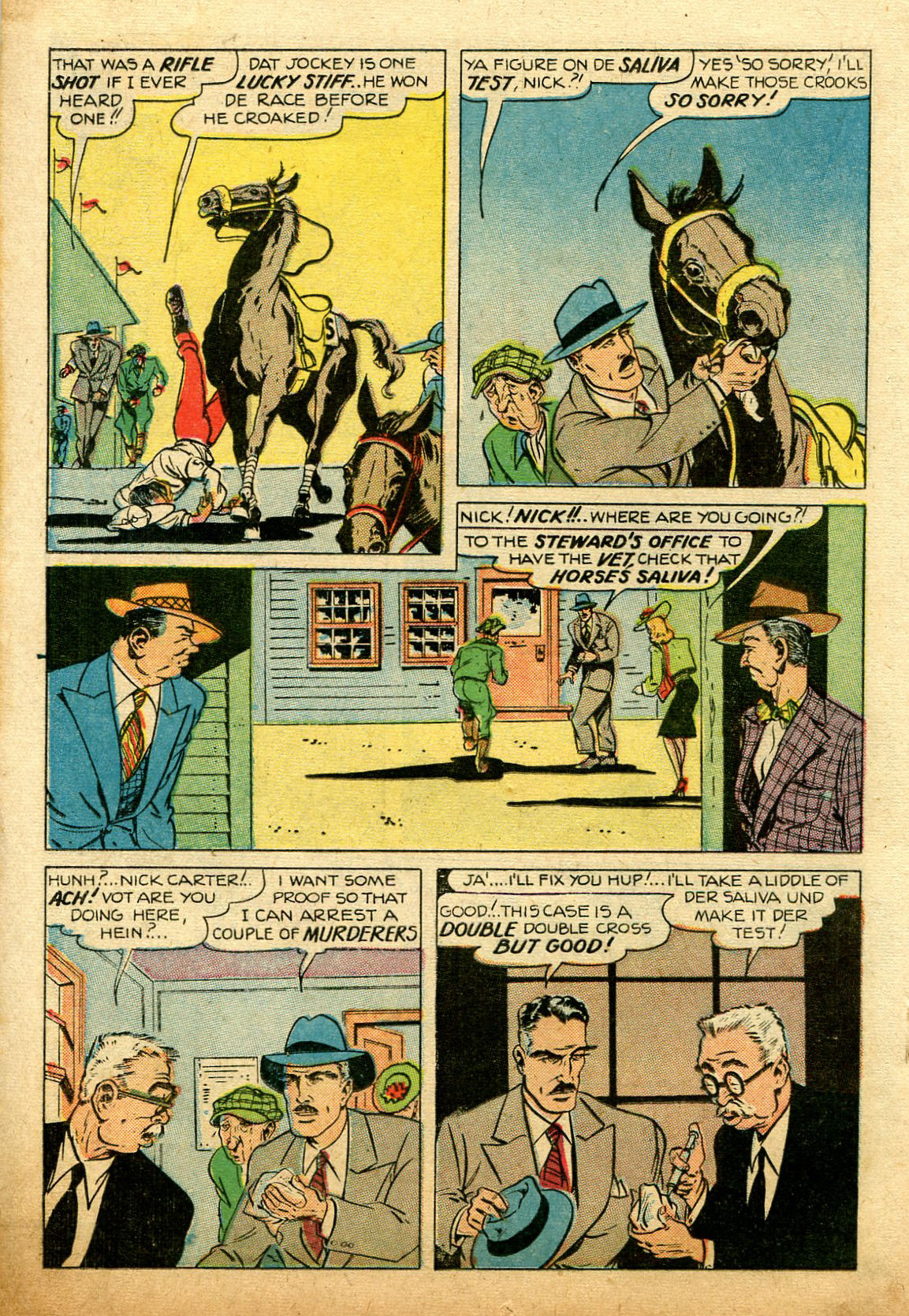 Read online Shadow Comics comic -  Issue #74 - 26