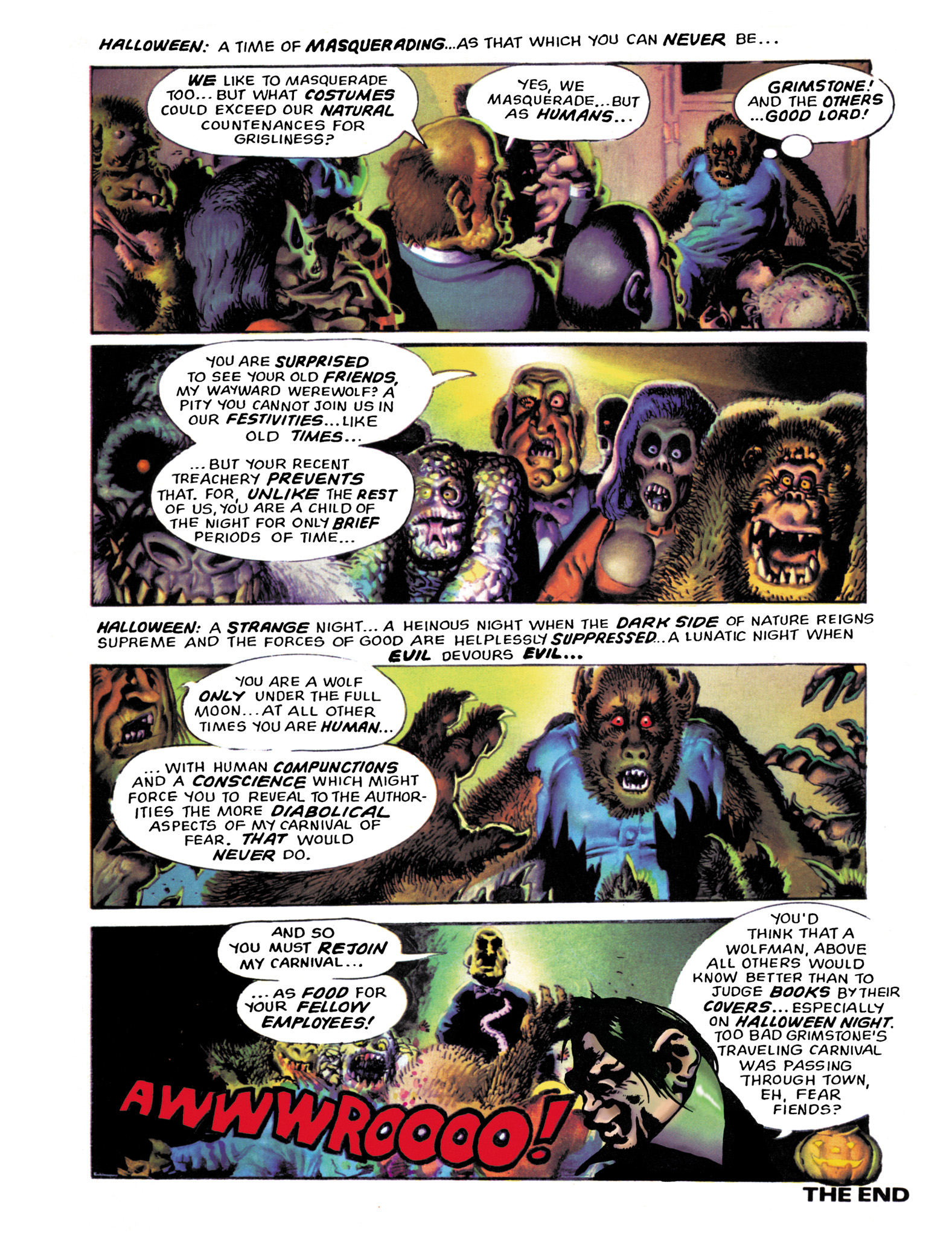 Read online Eerie Archives comic -  Issue # TPB 18 - 54