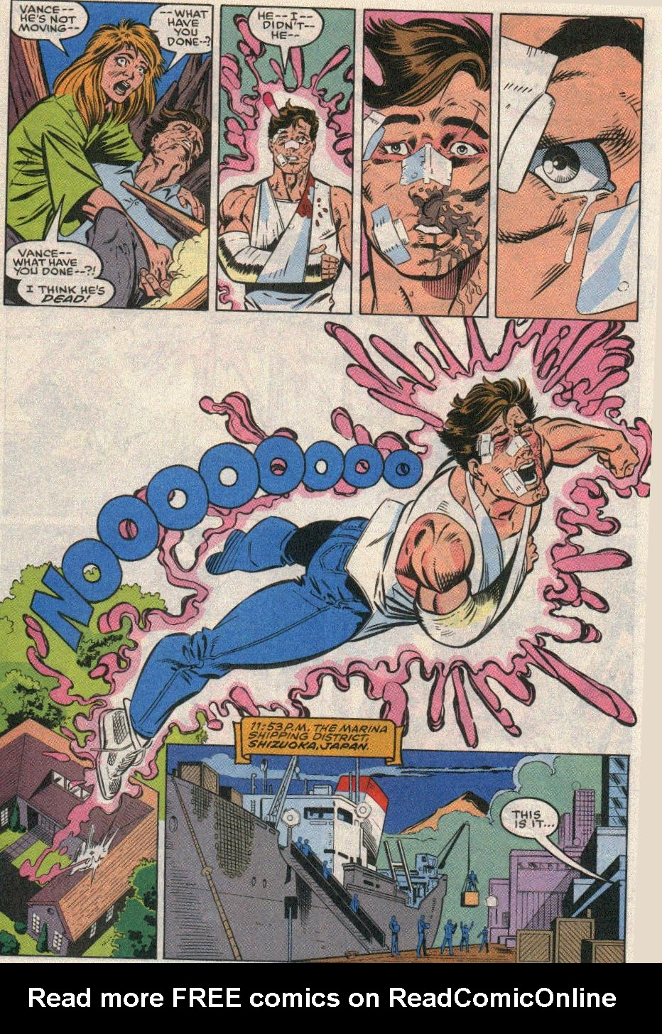 The New Warriors Issue #20 #24 - English 11