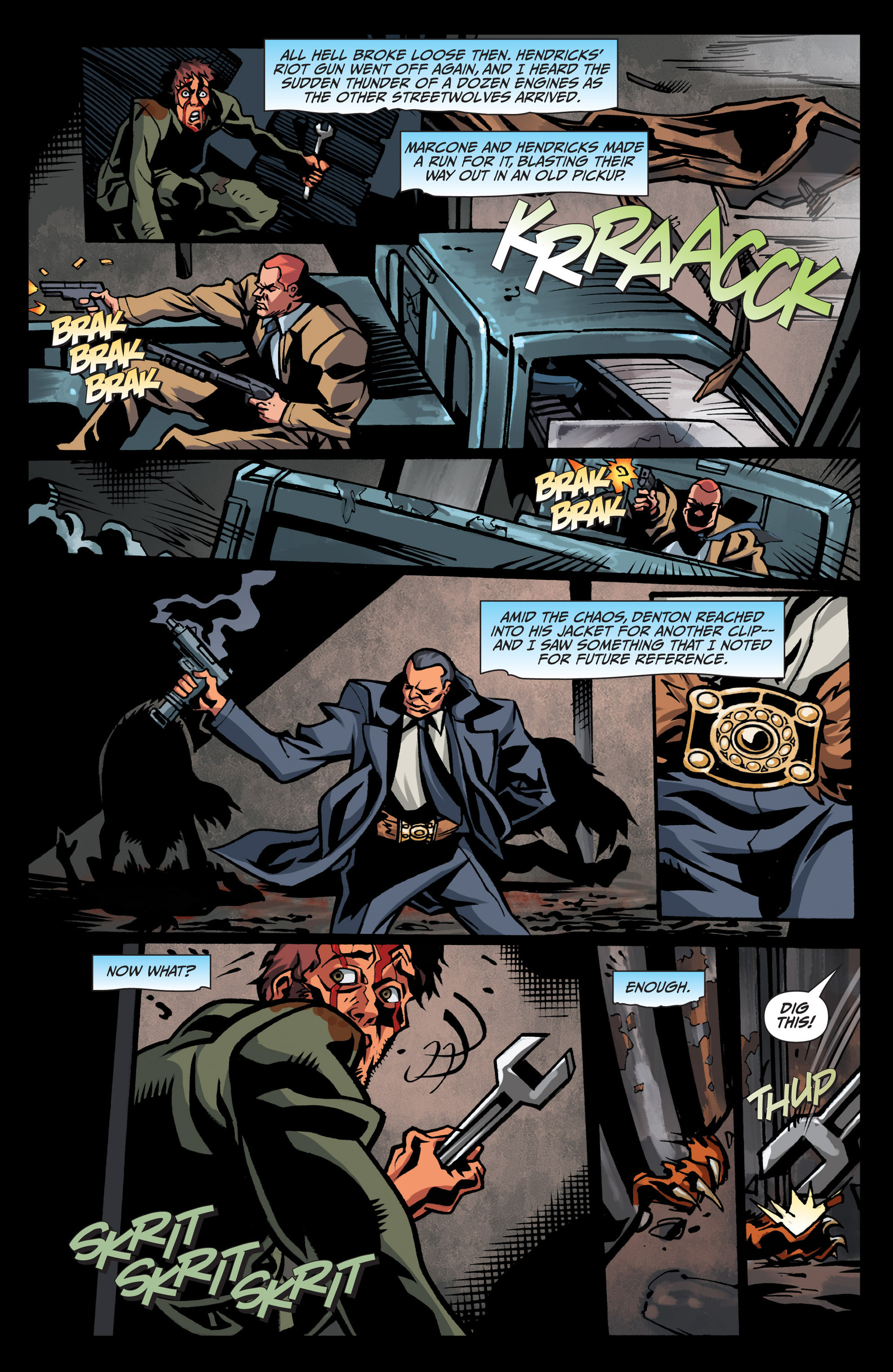 Read online Jim Butcher's The Dresden Files: Fool Moon comic -  Issue #7 - 8