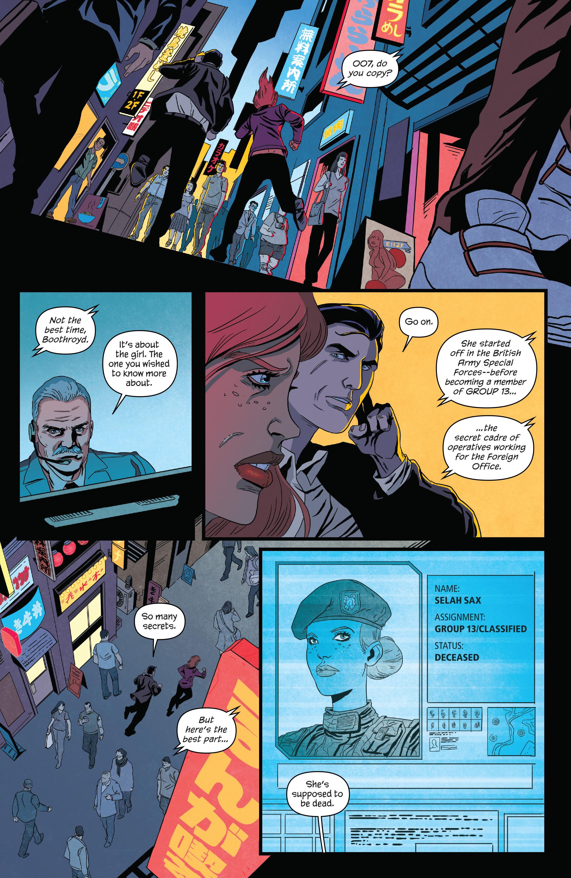 Read online James Bond (2017) comic -  Issue #2 - 23