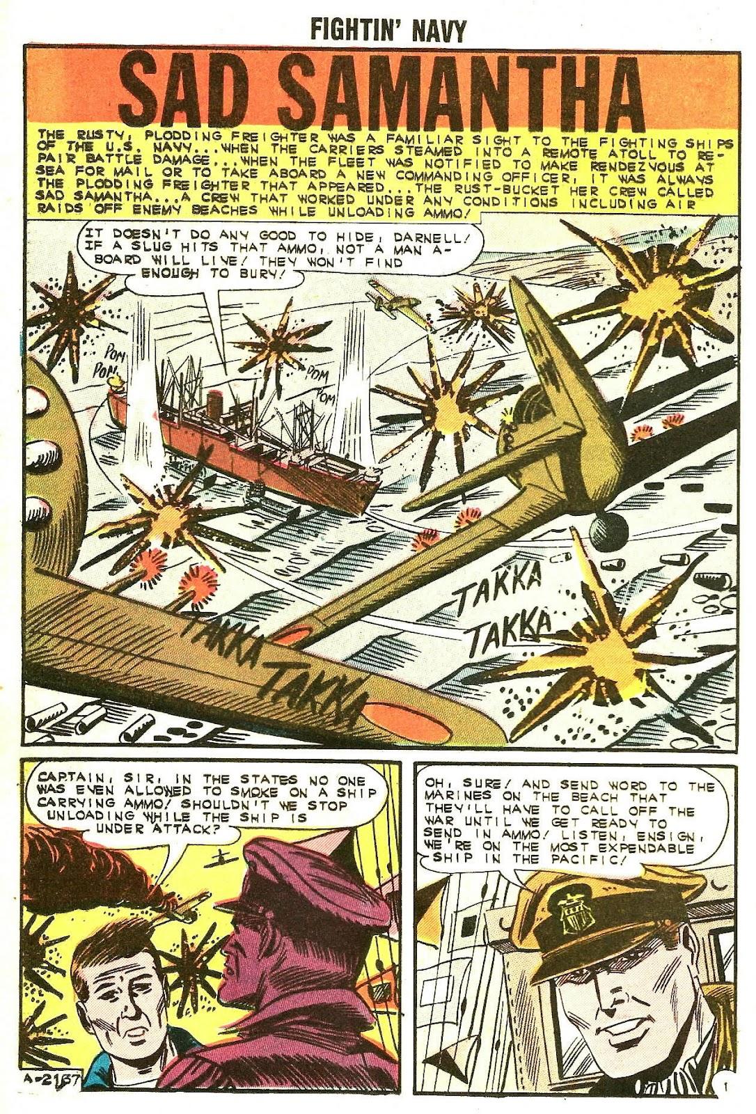 Read online Fightin' Navy comic -  Issue #107 - 20
