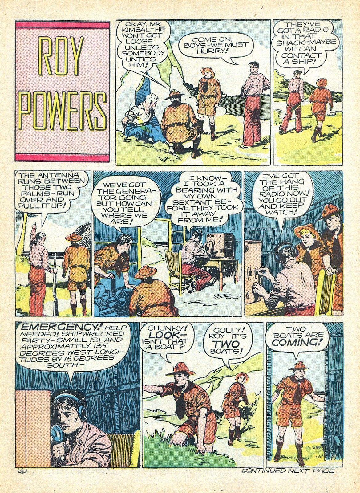 Read online Famous Funnies comic -  Issue #95 - 50