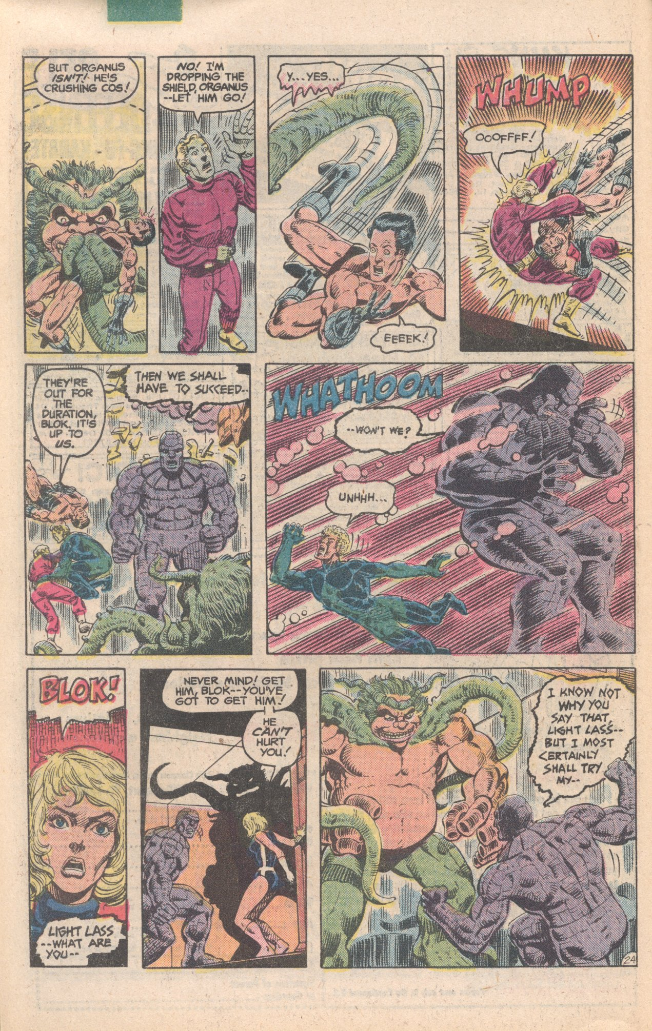 Legion of Super-Heroes (1980) 284 Page 24