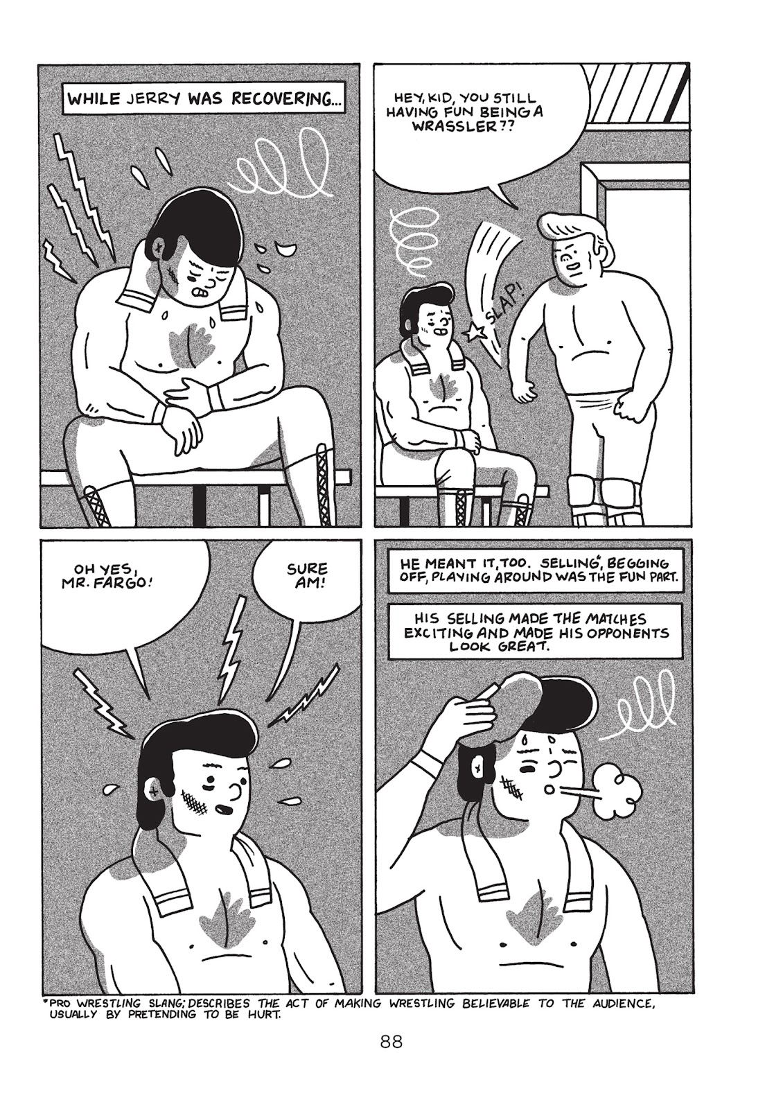 Read online Is This Guy For Real?: The Unbelievable Andy Kaufman comic -  Issue # TPB (Part 1) - 93