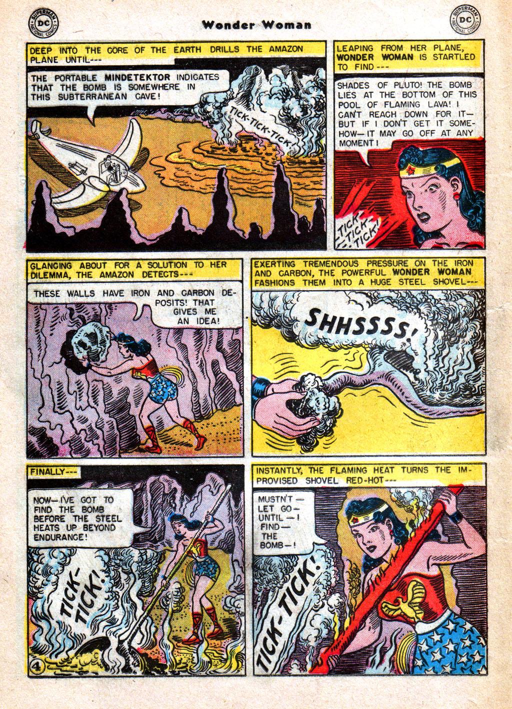 Read online Wonder Woman (1942) comic -  Issue #77 - 16