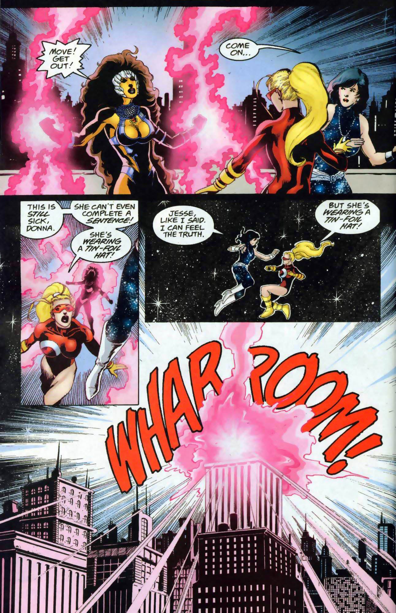 Read online The Titans (1999) comic -  Issue #48 - 20