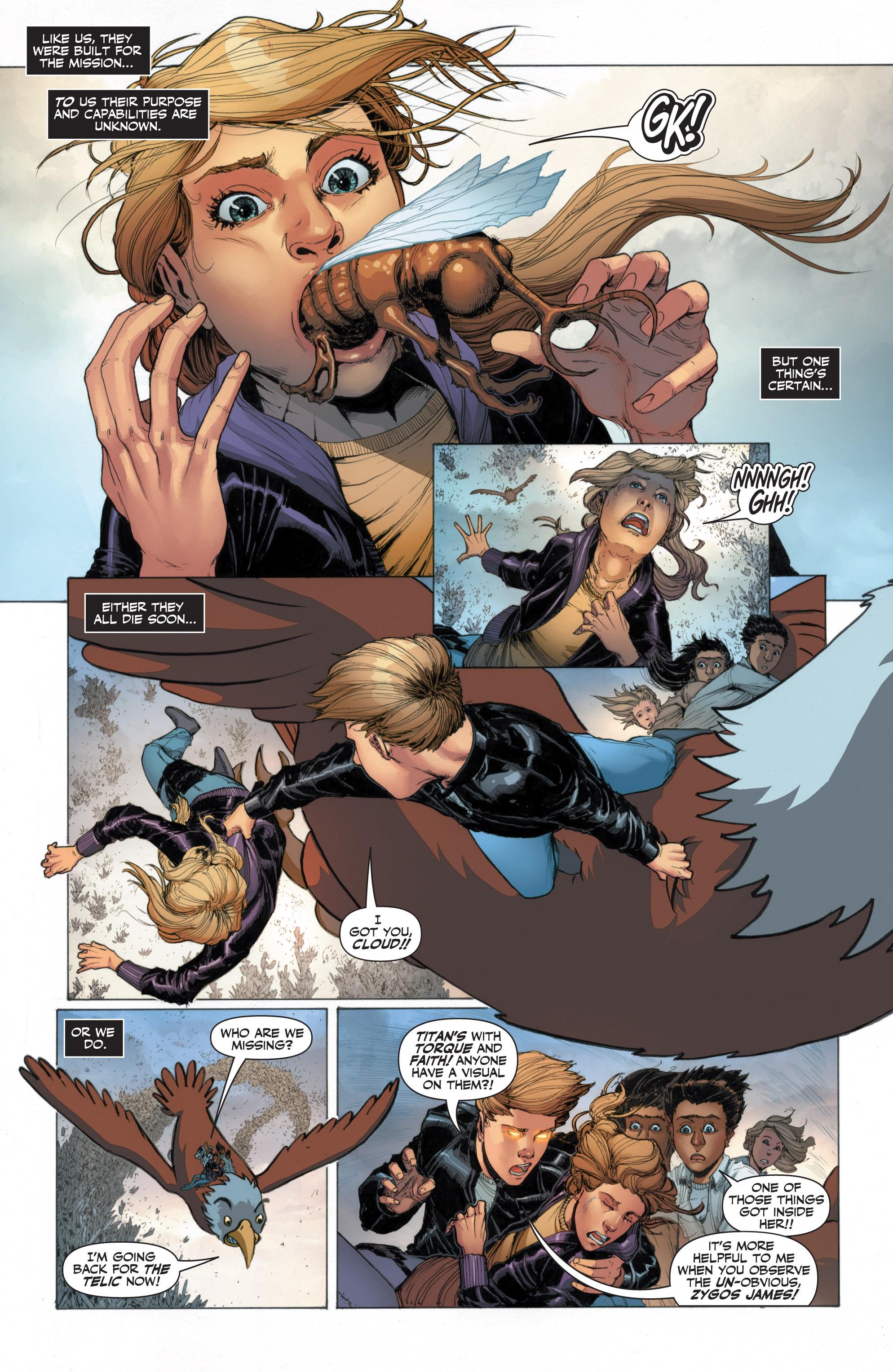 Read online Armor Hunters: Harbinger comic -  Issue # TPB - 57