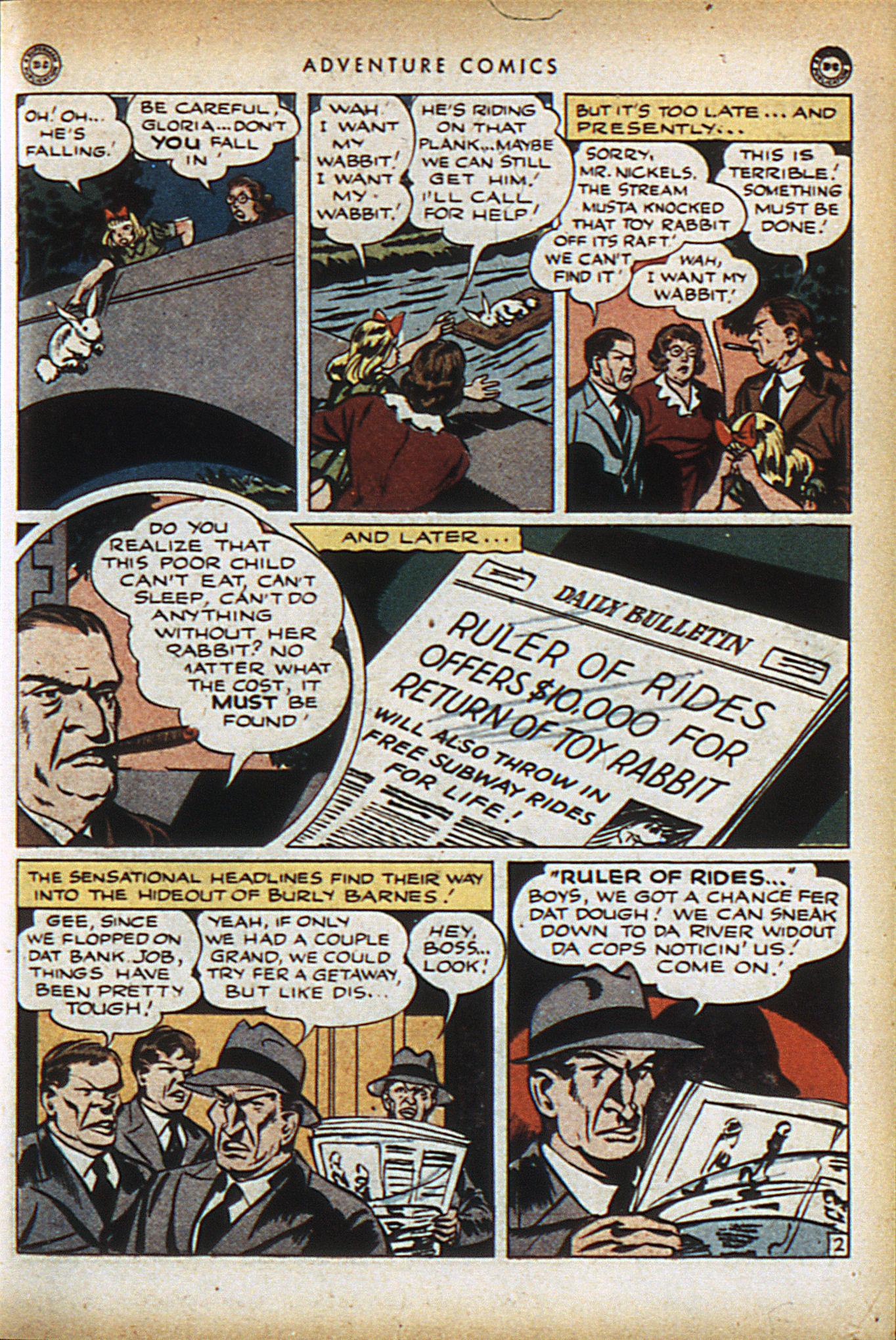Read online Adventure Comics (1938) comic -  Issue #96 - 16