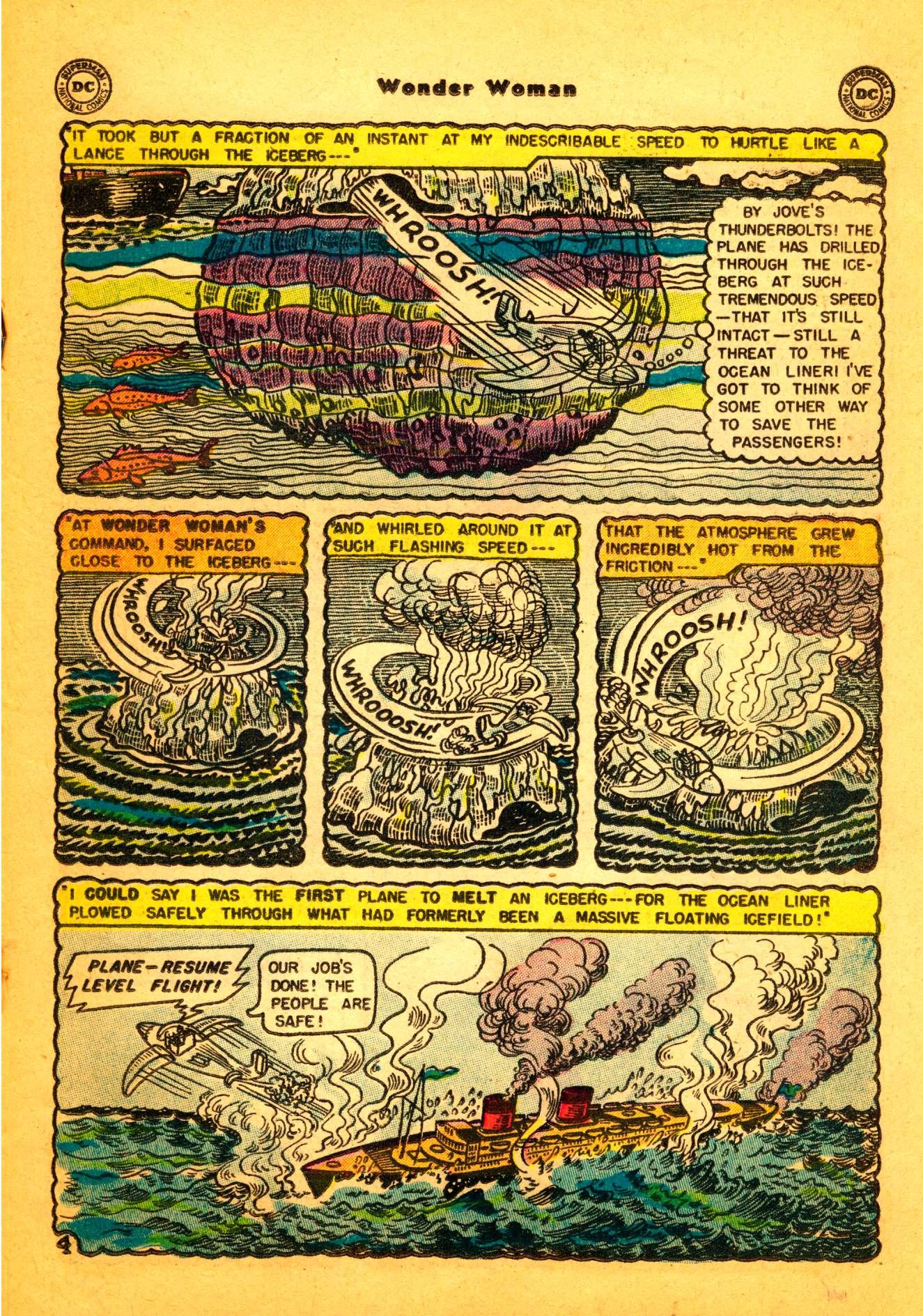 Read online Wonder Woman (1942) comic -  Issue #86 - 18