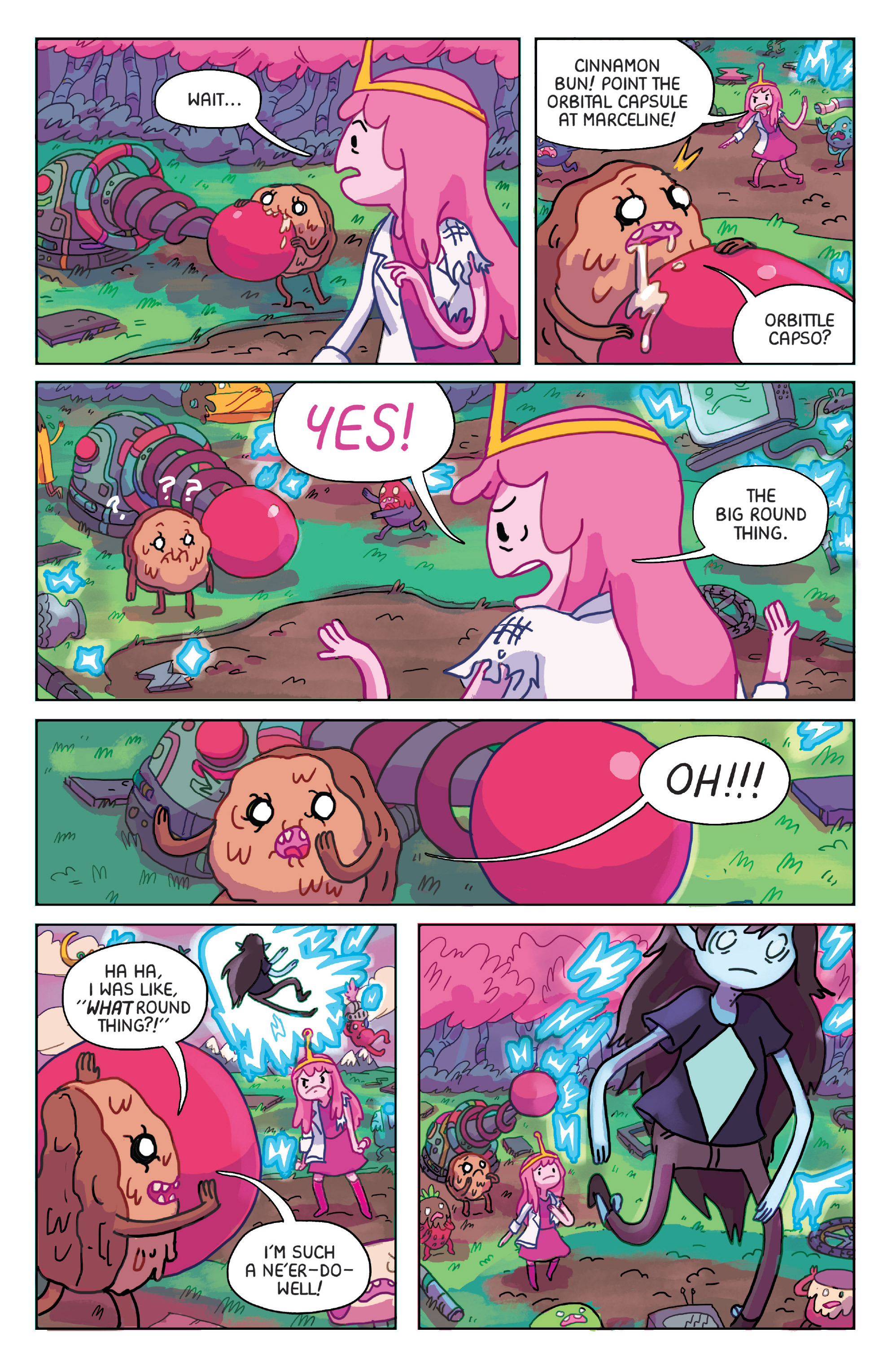Read online Adventure Time: Marceline Gone Adrift comic -  Issue #1 - 16